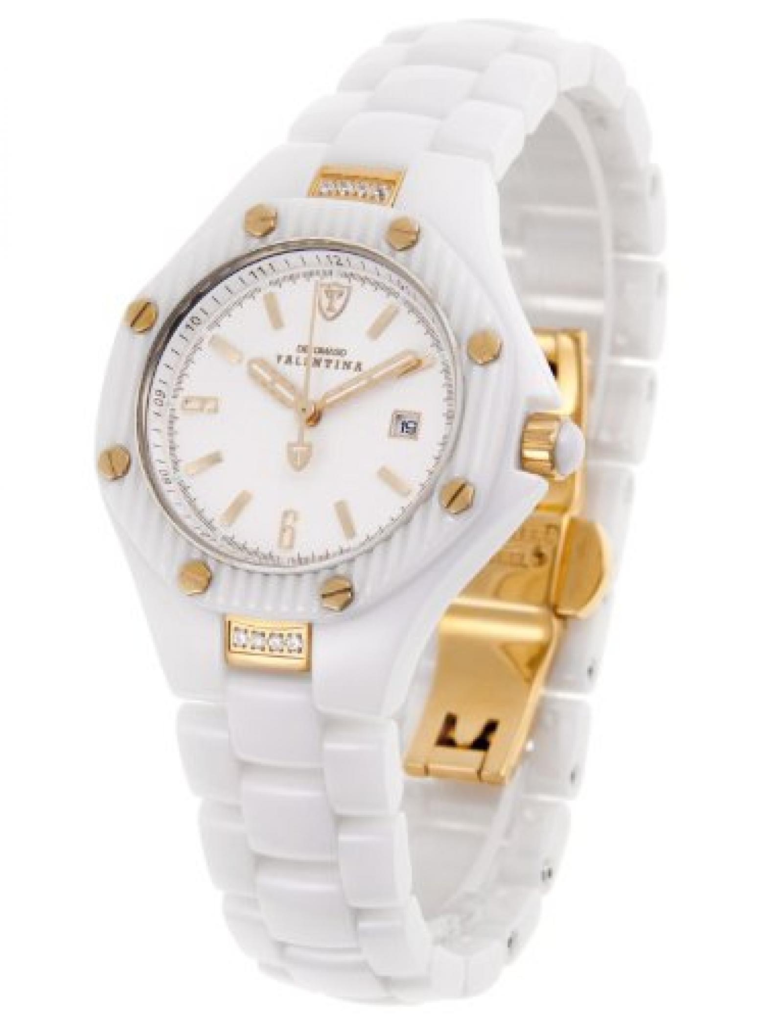 Detomaso Damen-Armbanduhr XS  VALENTINA DT3005-D Ladies Analog Quarz Keramik DT3005-D