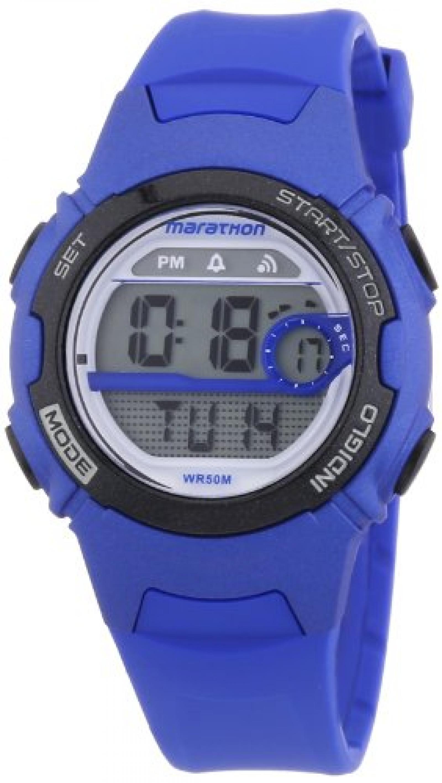 Timex Mädchen-Armbanduhr Marathon By Timex Digital Digital Quarz Plastik T5K772