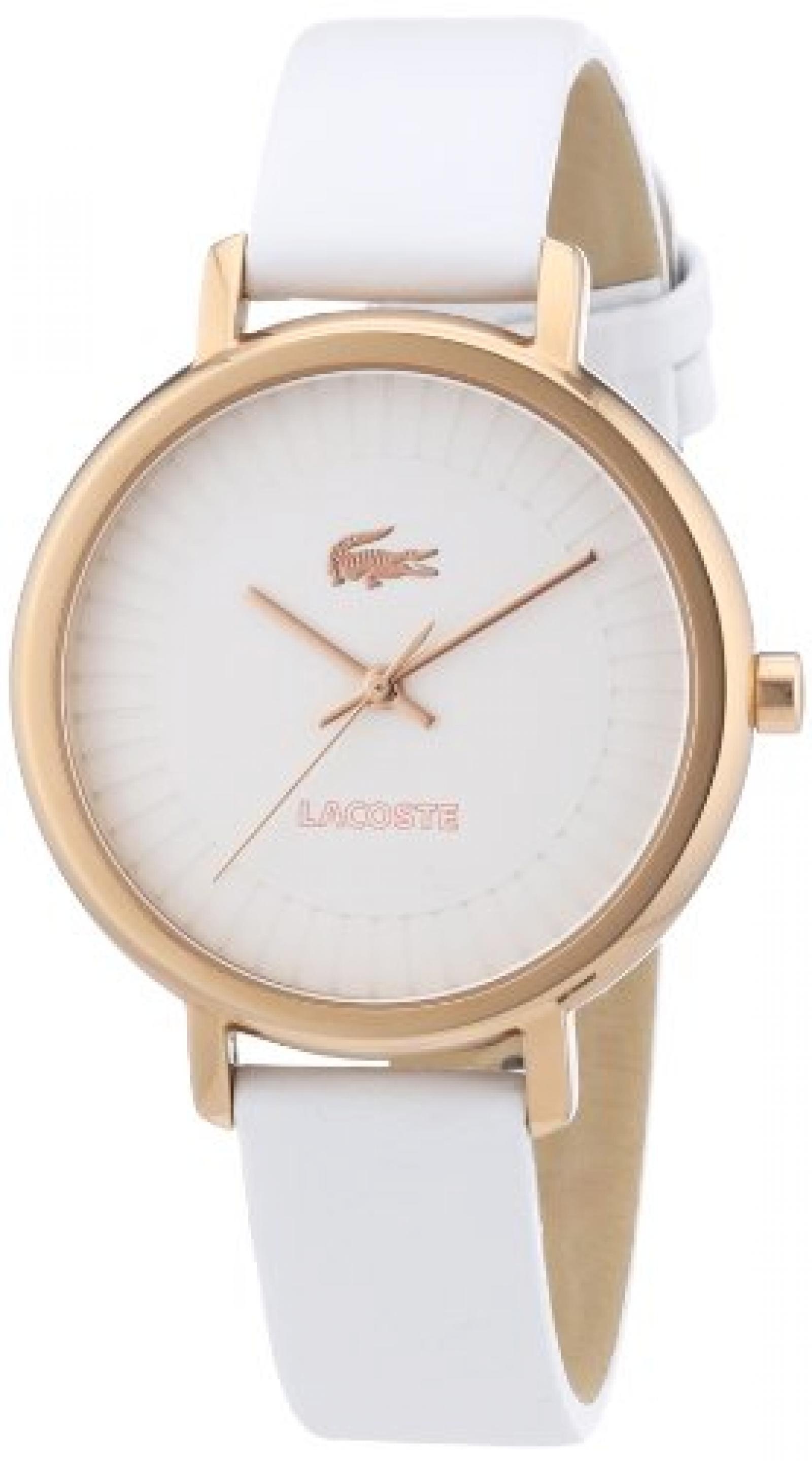 Lacoste Damen-Armbanduhr XS Analog Quarz Leder 2000715