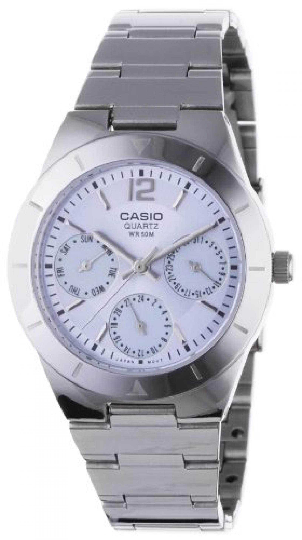 Casio Collection Damen-Armbanduhr Analog Quarz LTP-2069D-2AVEF