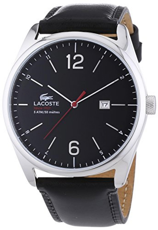 Lacoste Herren-Armbanduhr XL AUSTIN Analog Quarz Leder 2010748