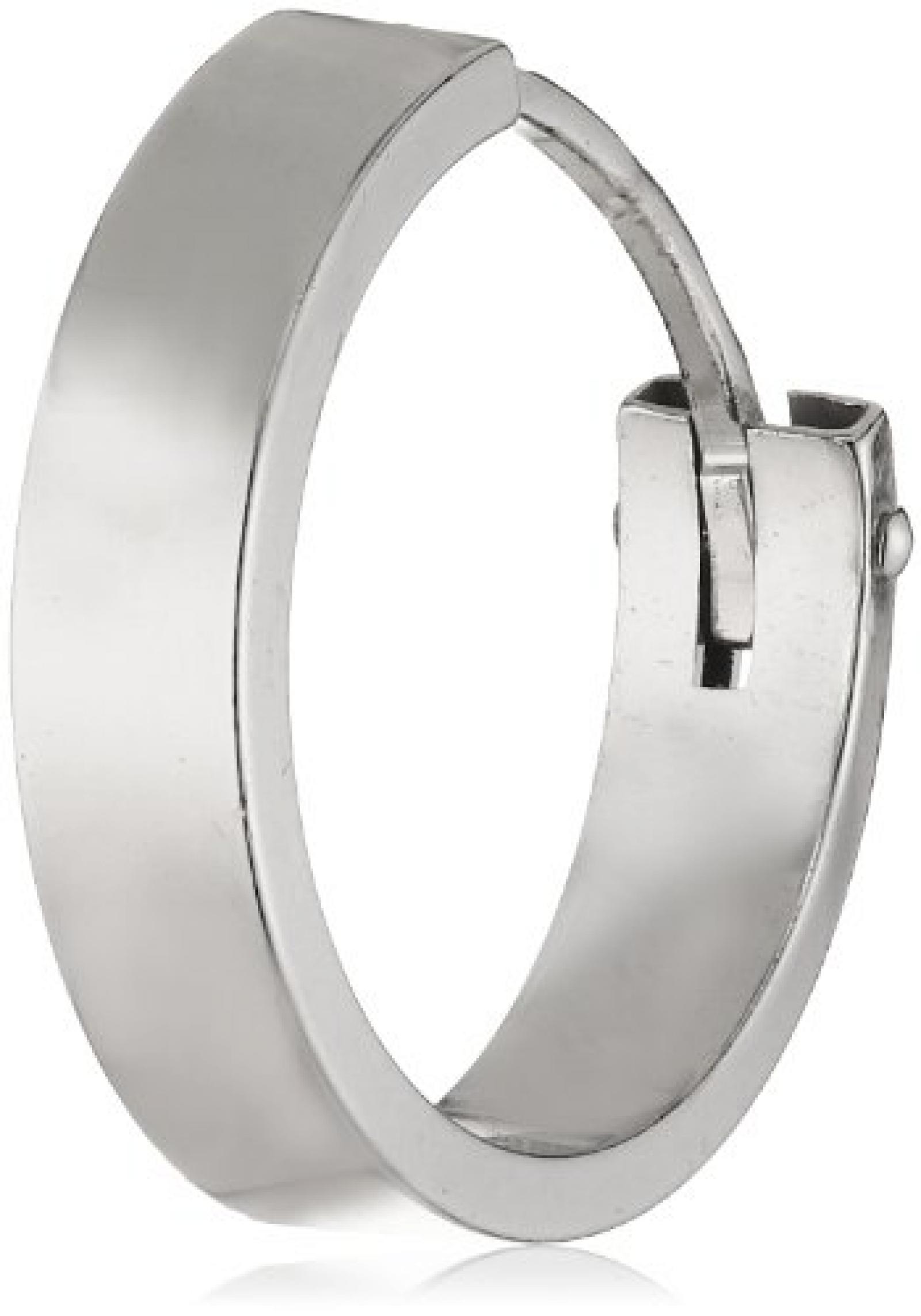 Amor Jewelry Damen-Creolen 925 Sterling Silber 328623