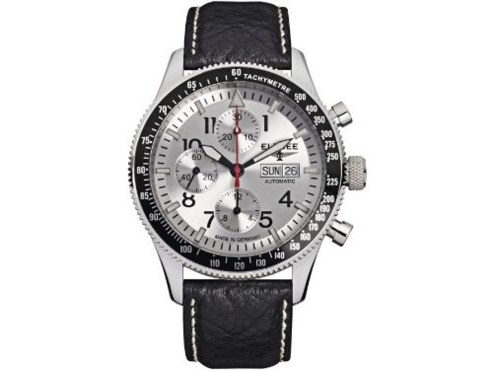 Elysee Herrenuhr Chronograph Executive I 80530silver