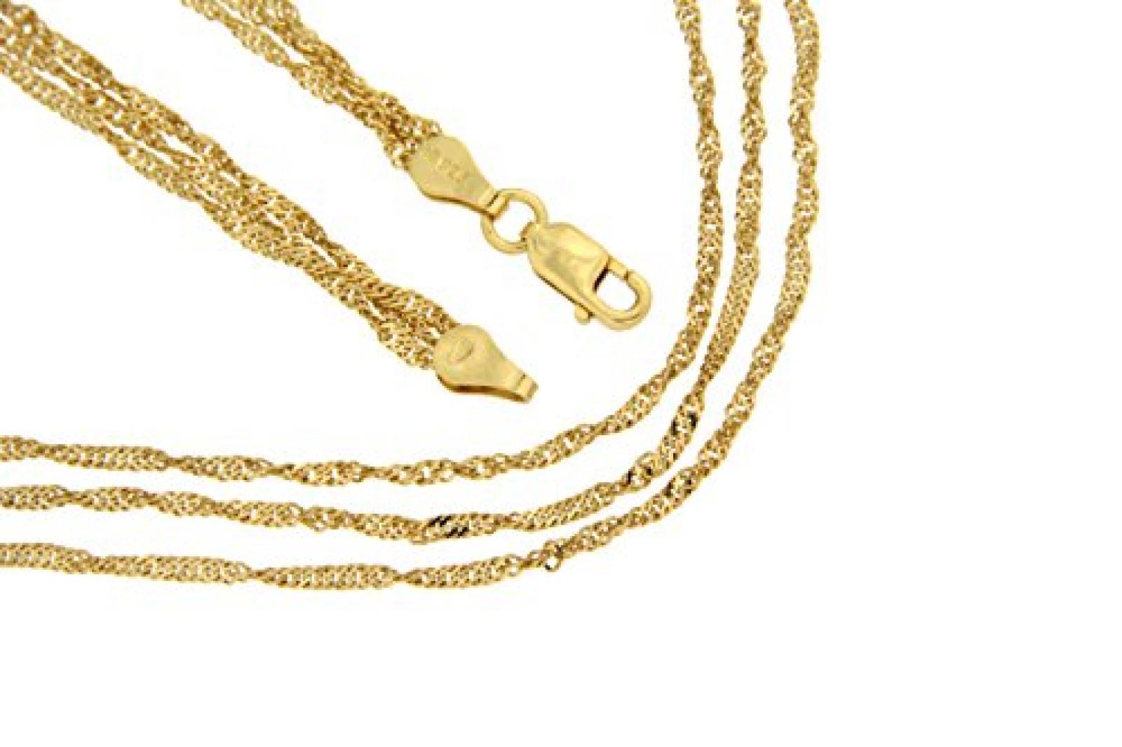 Kettenworld Damen Halskette 925 Sterling Silber 319865