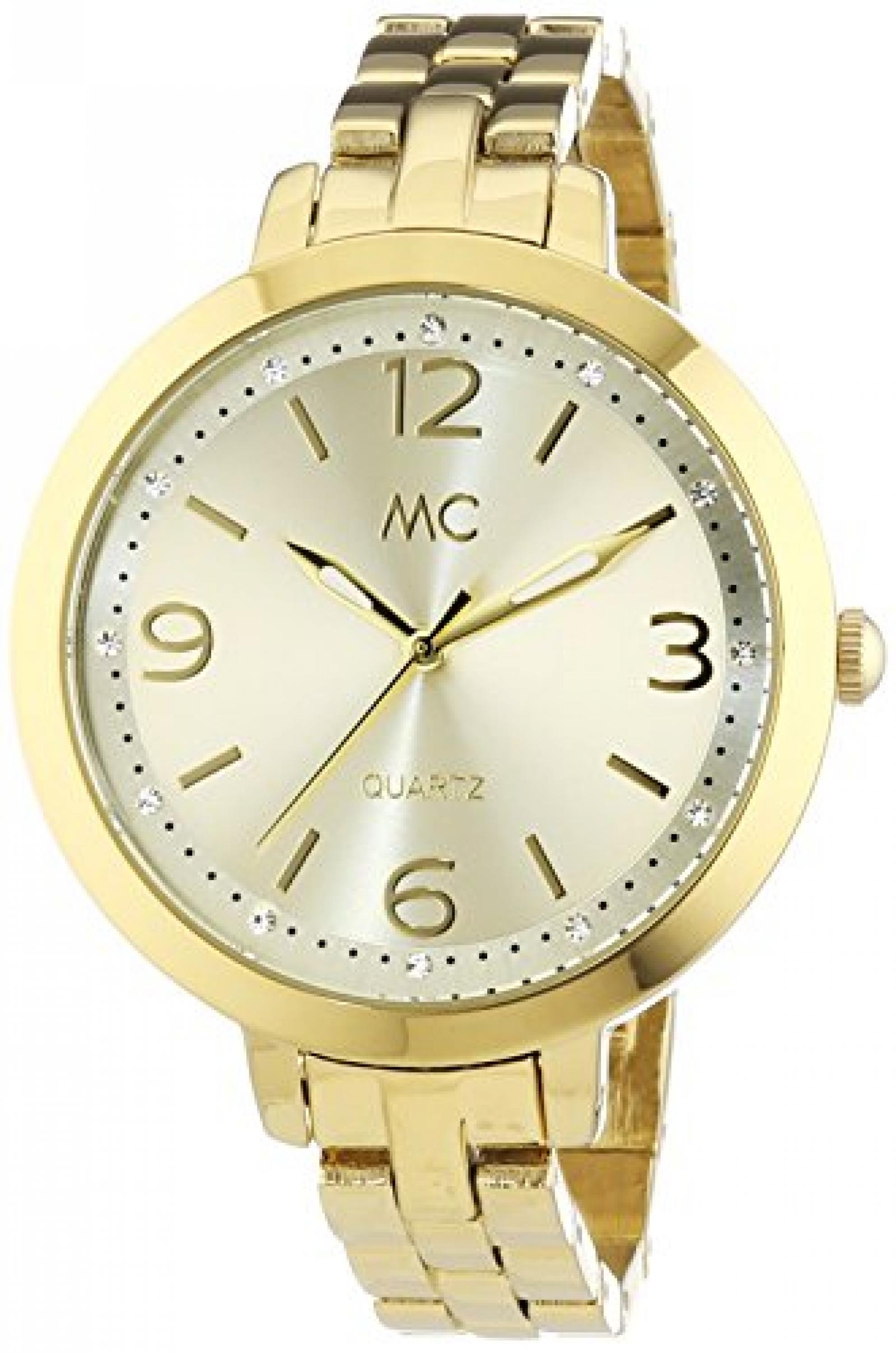 MC Timetrend Damen-Armbanduhr Analog Quarz Messing 51293