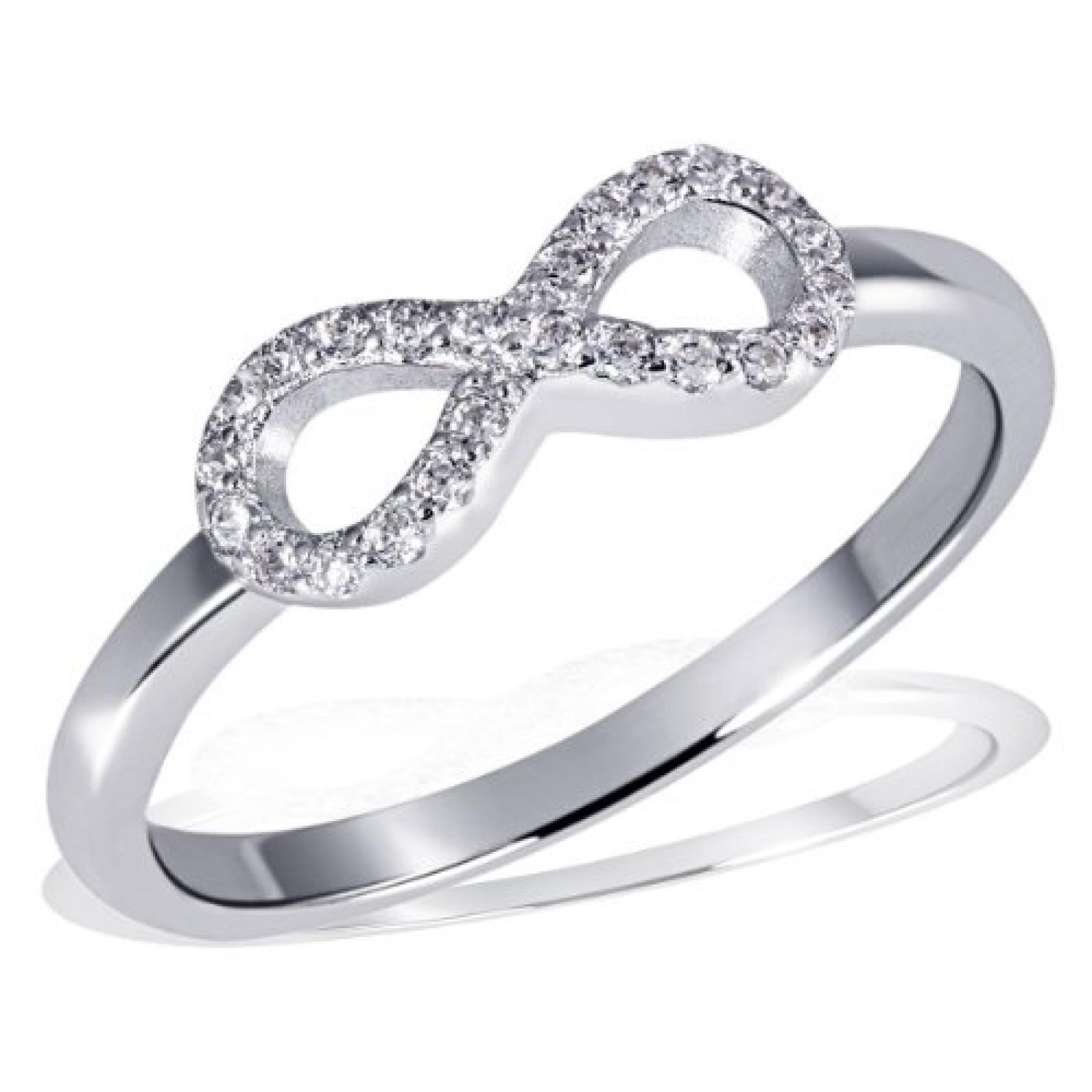 Goldmaid Damen-Ring 925 Sterling Silber Zirkonia weiß  Fo R62S
