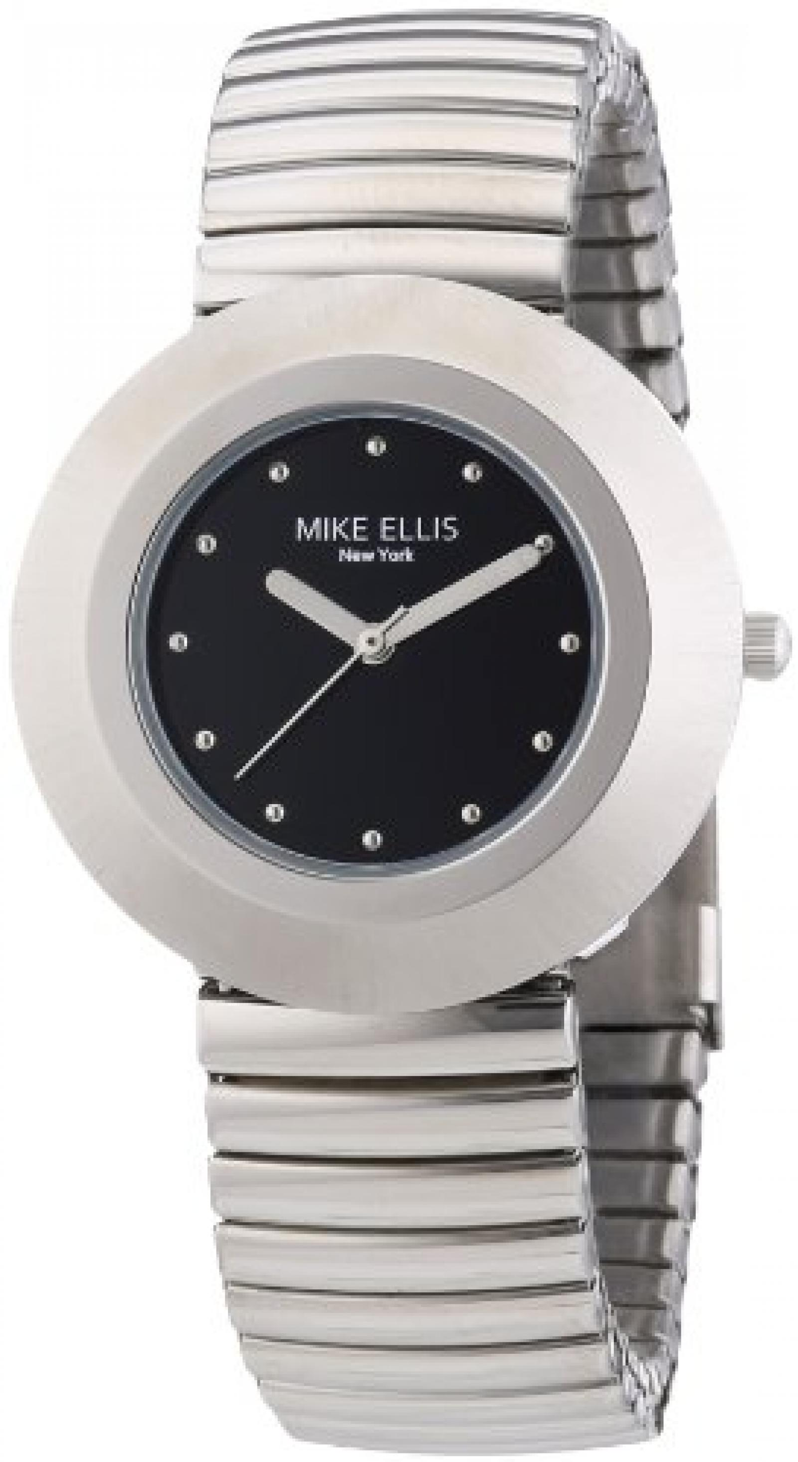 Mike Ellis New York Damen-Armbanduhr XS Analog Quarz Edelstahl L2234ASM/2