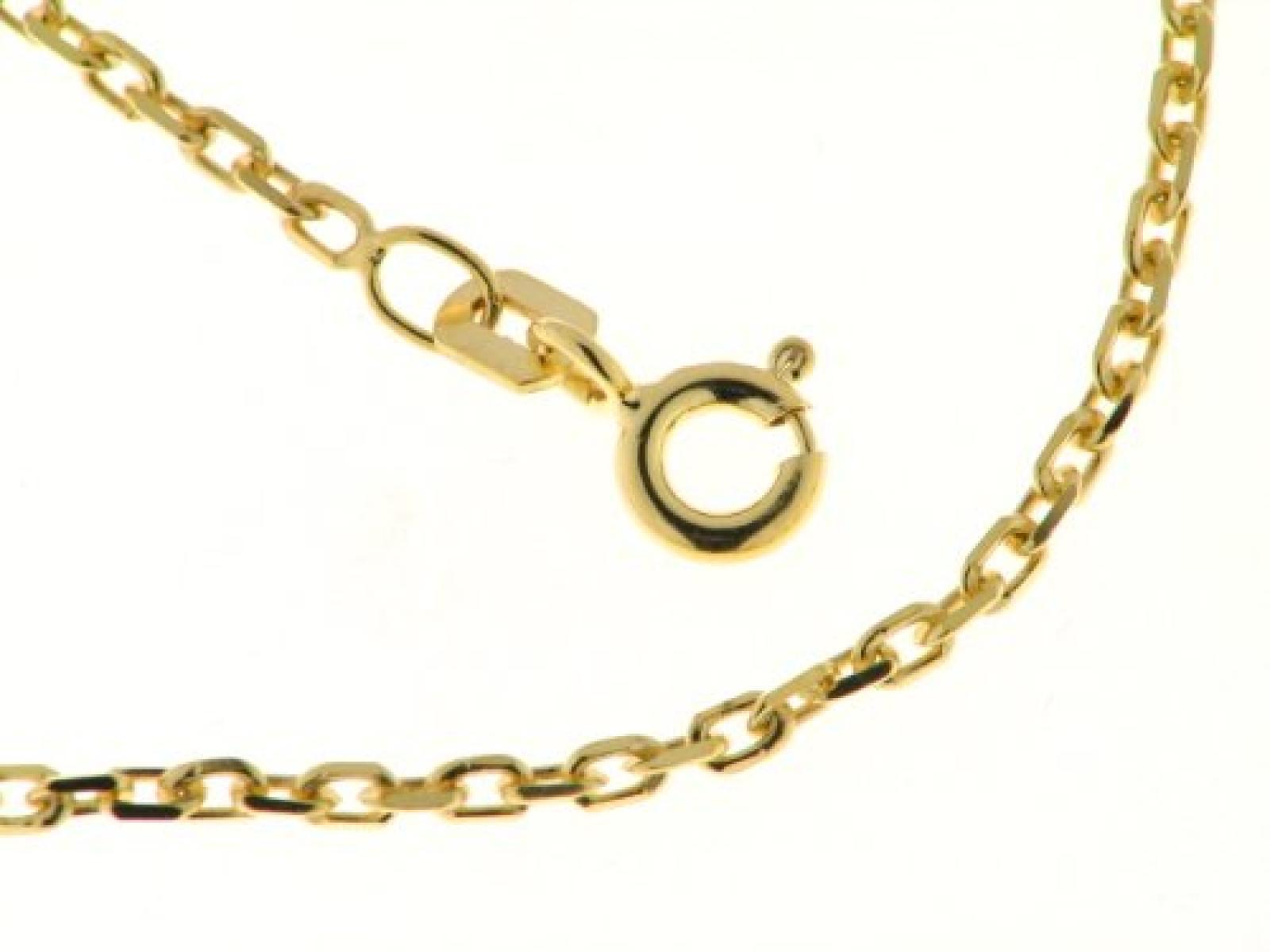BOB C. Damen-Halskette 8 Karat 333 Gelbgold Anker 242156
