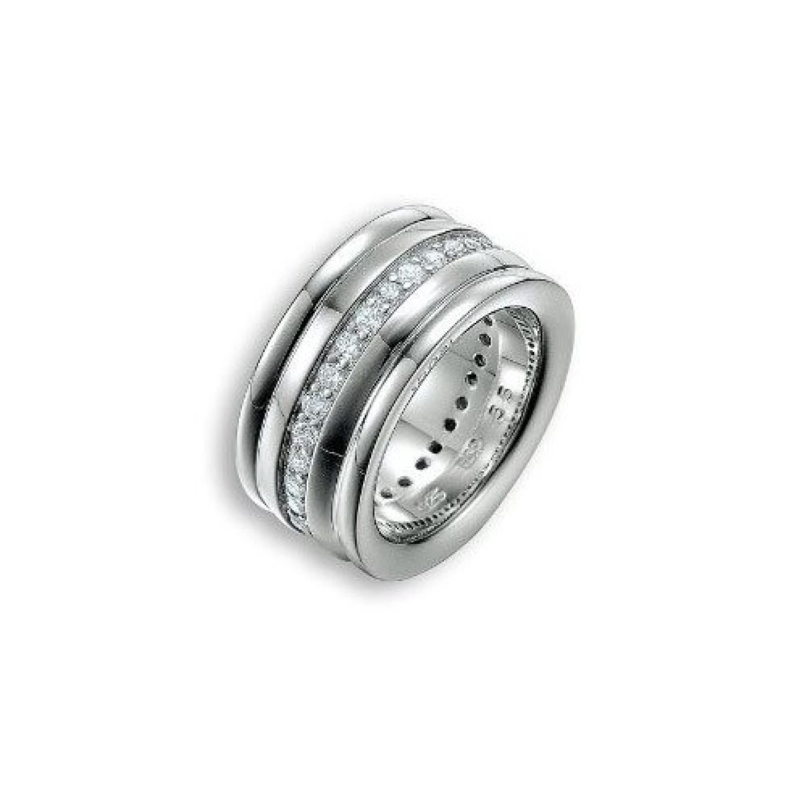 Joop Damen-Ring mit Zirkonia weiß JPRG90451A
