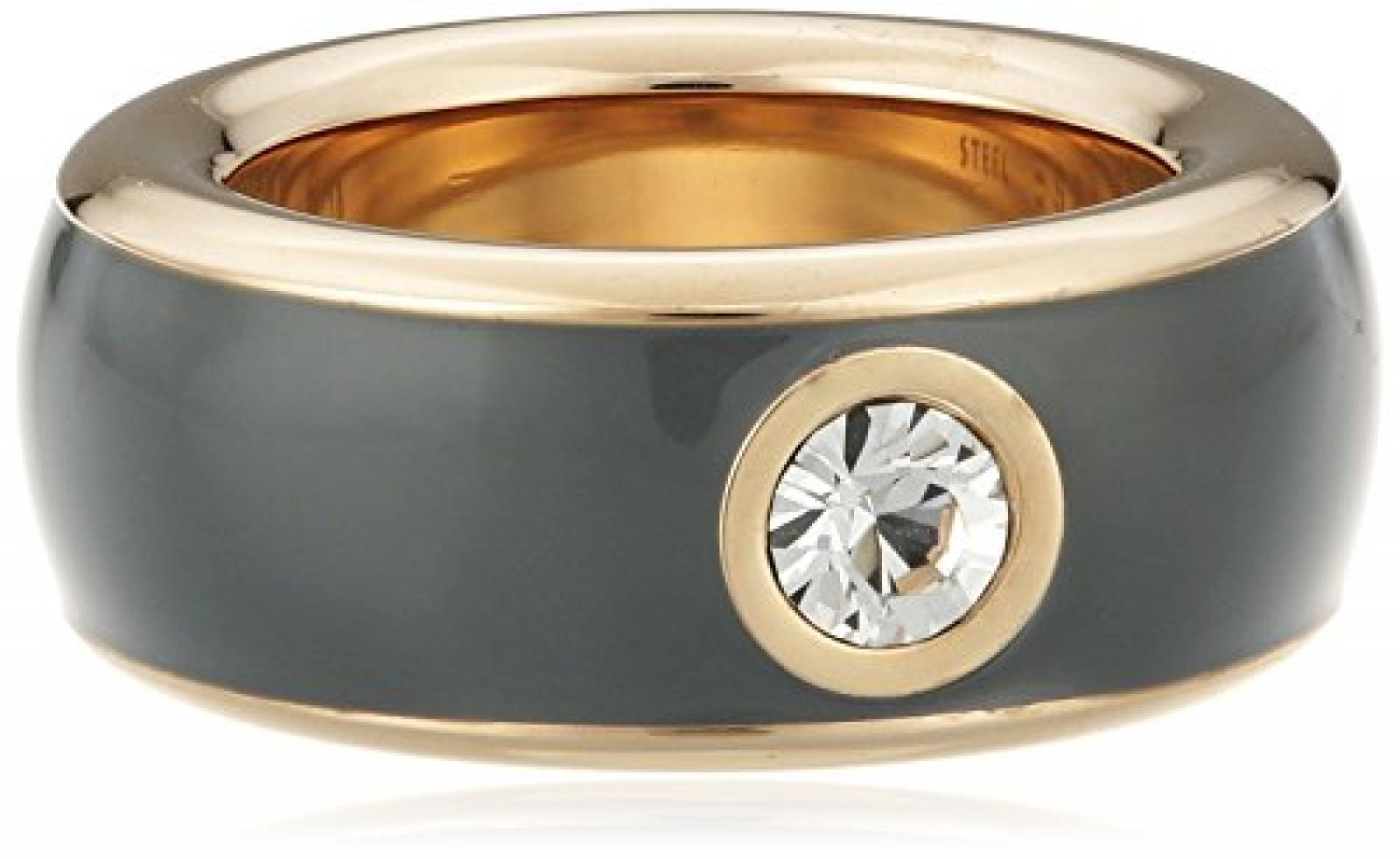 Esprit Jewels Damen-Ring Edelstahl Fancy grey rose ESRG12194E1