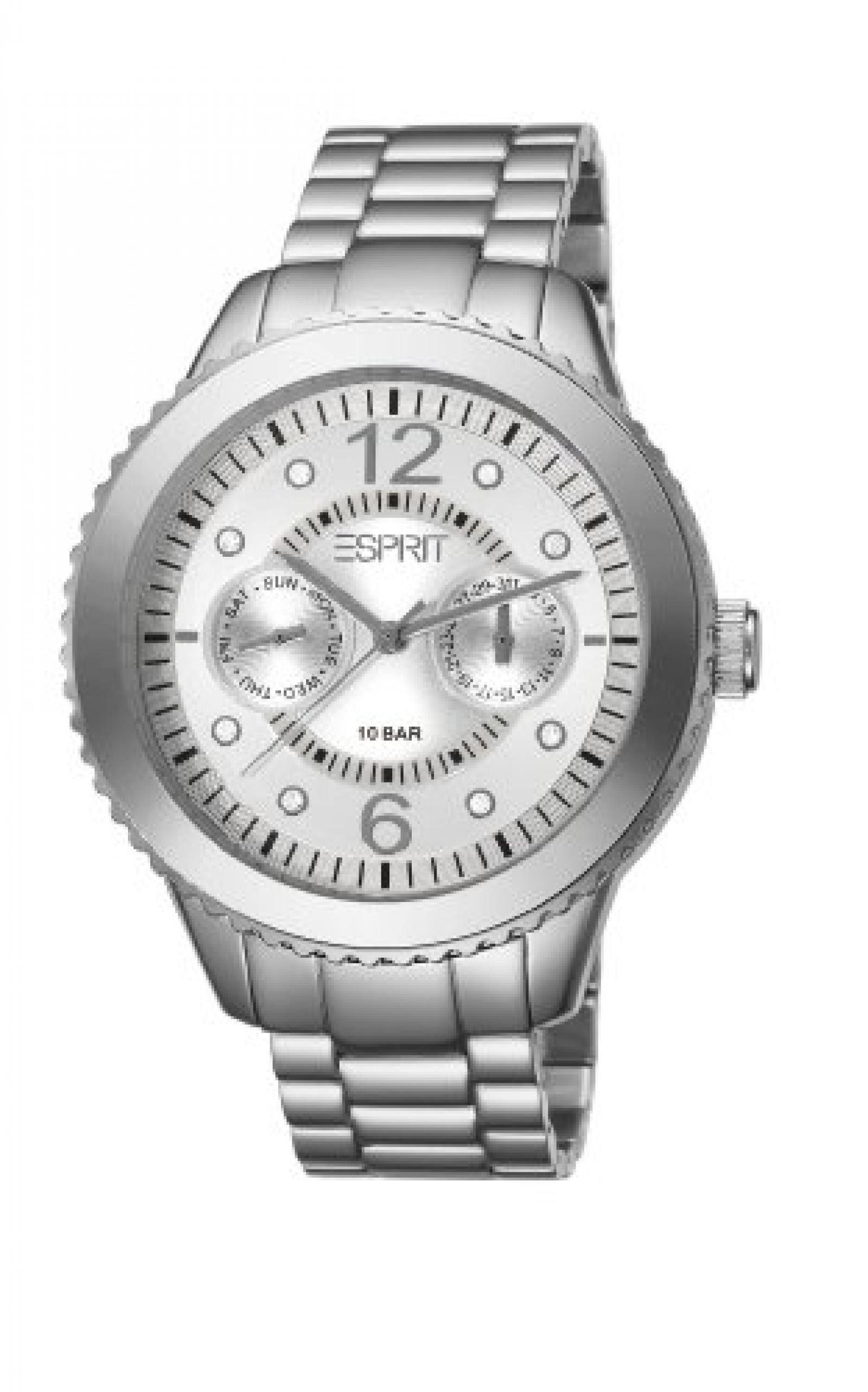 Esprit Damen-Armbanduhr Marin Aluminium Speed Analog Quarz Edelstahl ES105802002