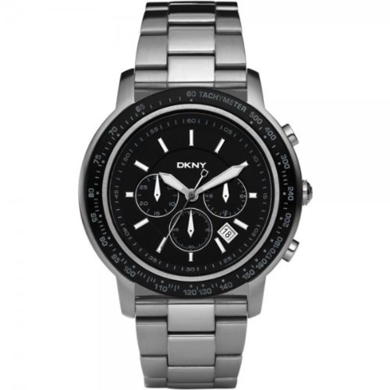 DKNY NY1477 Mens Sport Chronograph Silver Watch