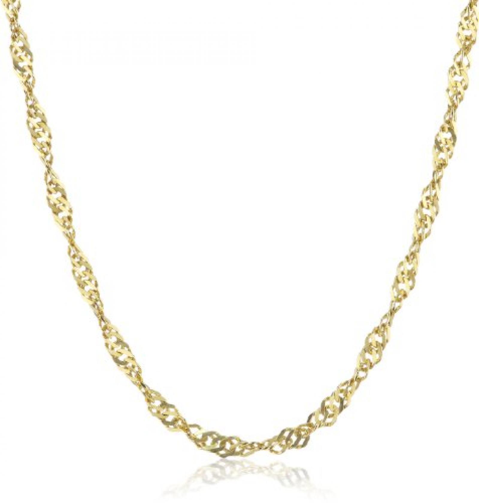 Amor Jewelry Damen-Halskette 8 Karat 333 Gelbgold 383233