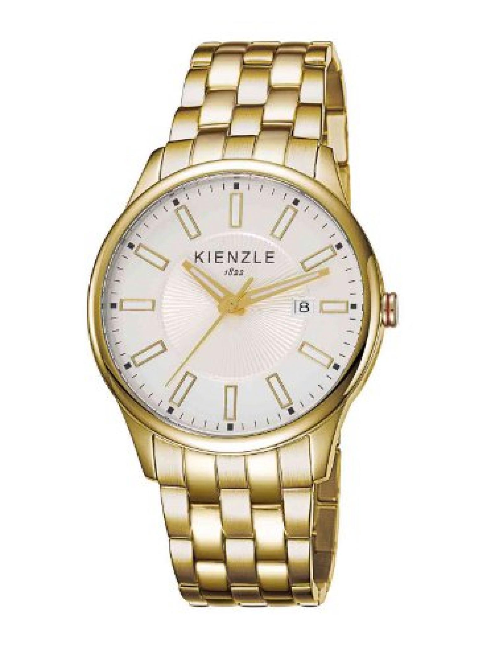 Kienzle Unisex-Armbanduhr Analog Edelstahl beschichtet K3043021092