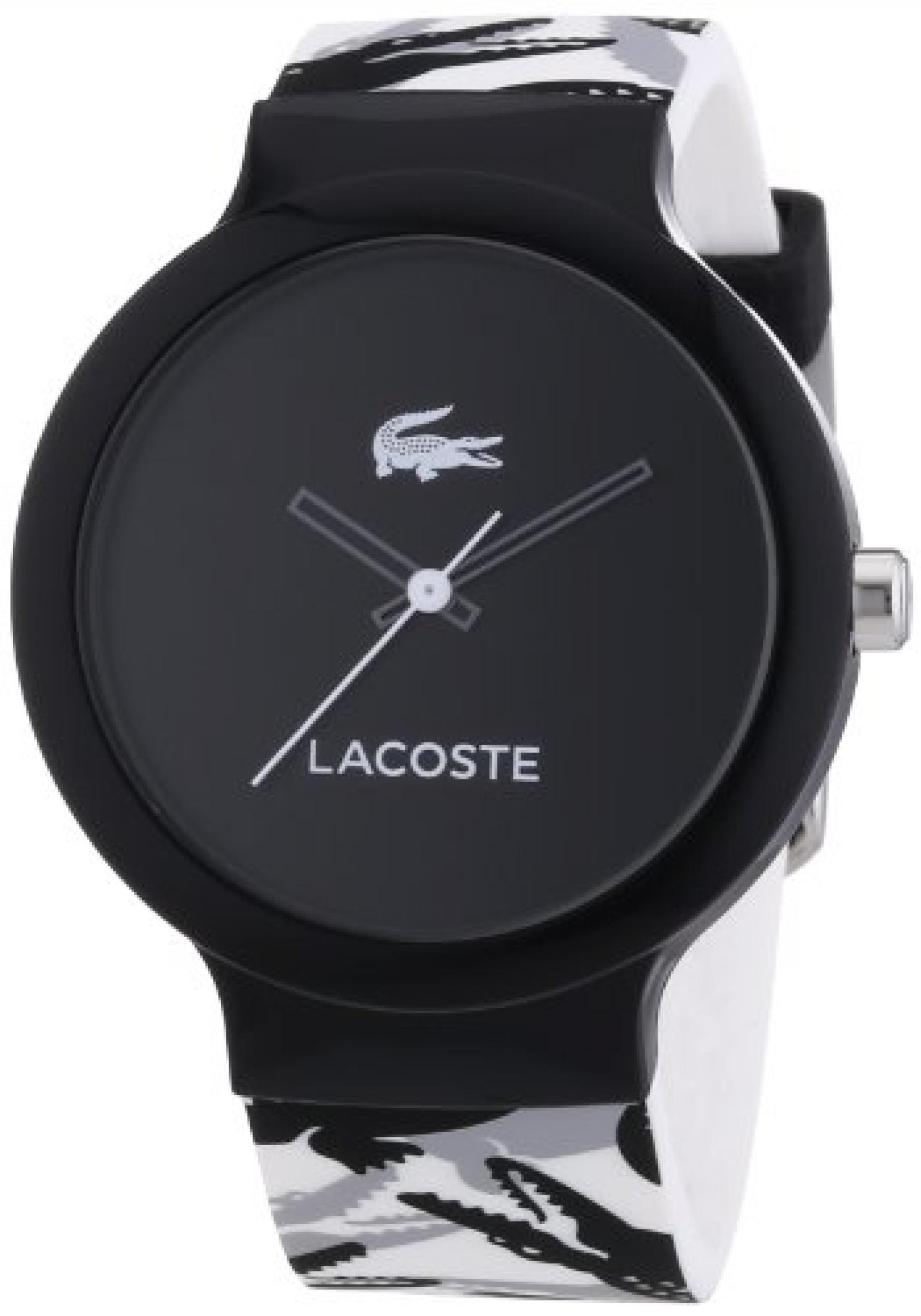 Lacoste Unisex-Armbanduhr Analog Quarz Silikon 2020059