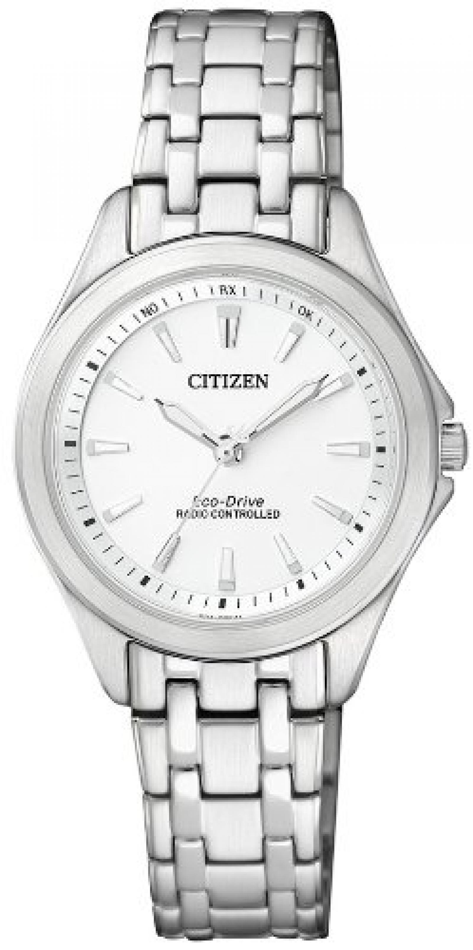 Citizen Damen-Armbanduhr XS Analog Quarz Edelstahl ES4020-53A