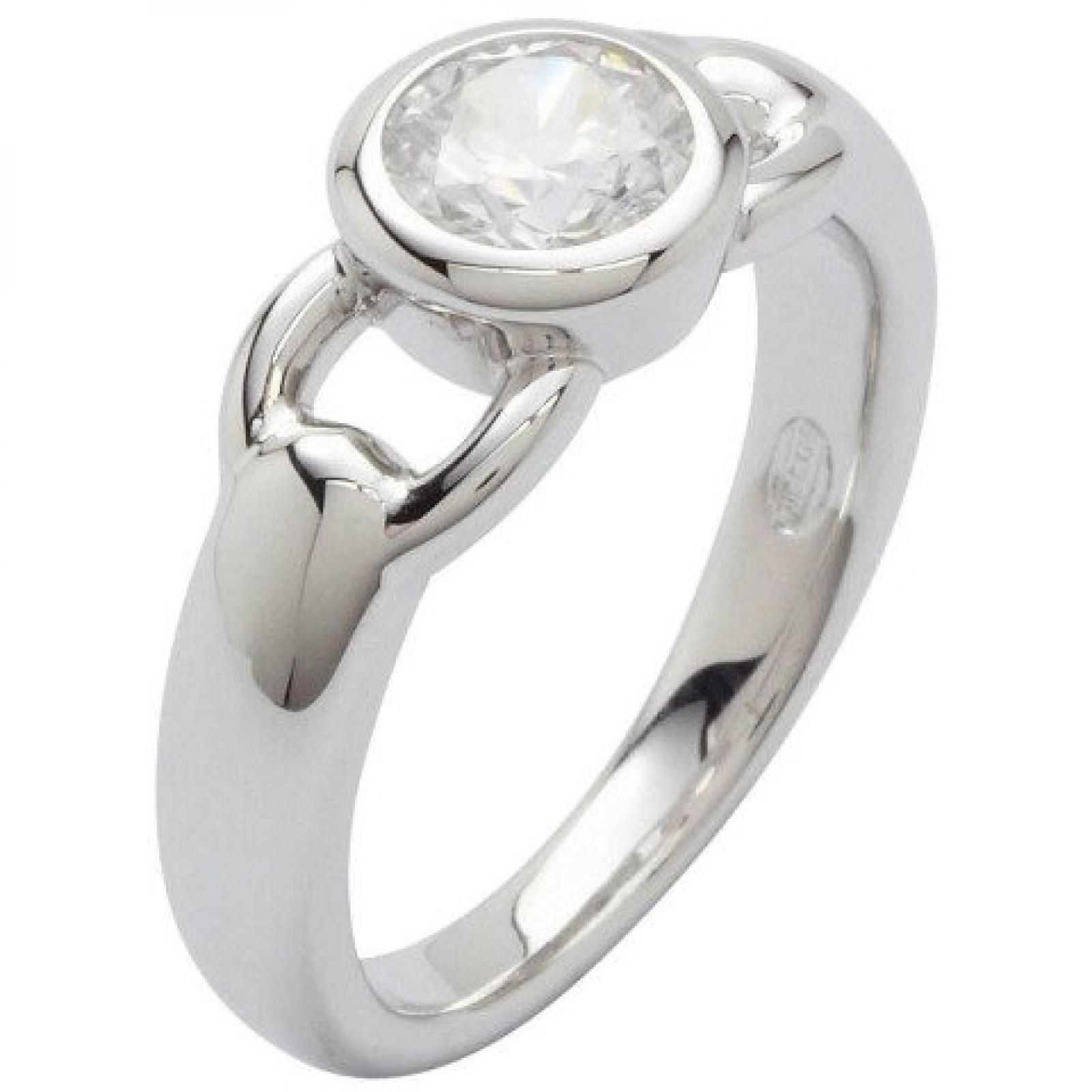 Fossil Damen-Ring 925 Sterling Silber Zirkonia Gr.18 JF16841040