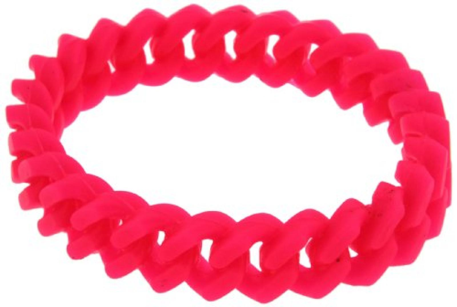 Kettenworld Unisex Armband 18.0 cm pink 334611
