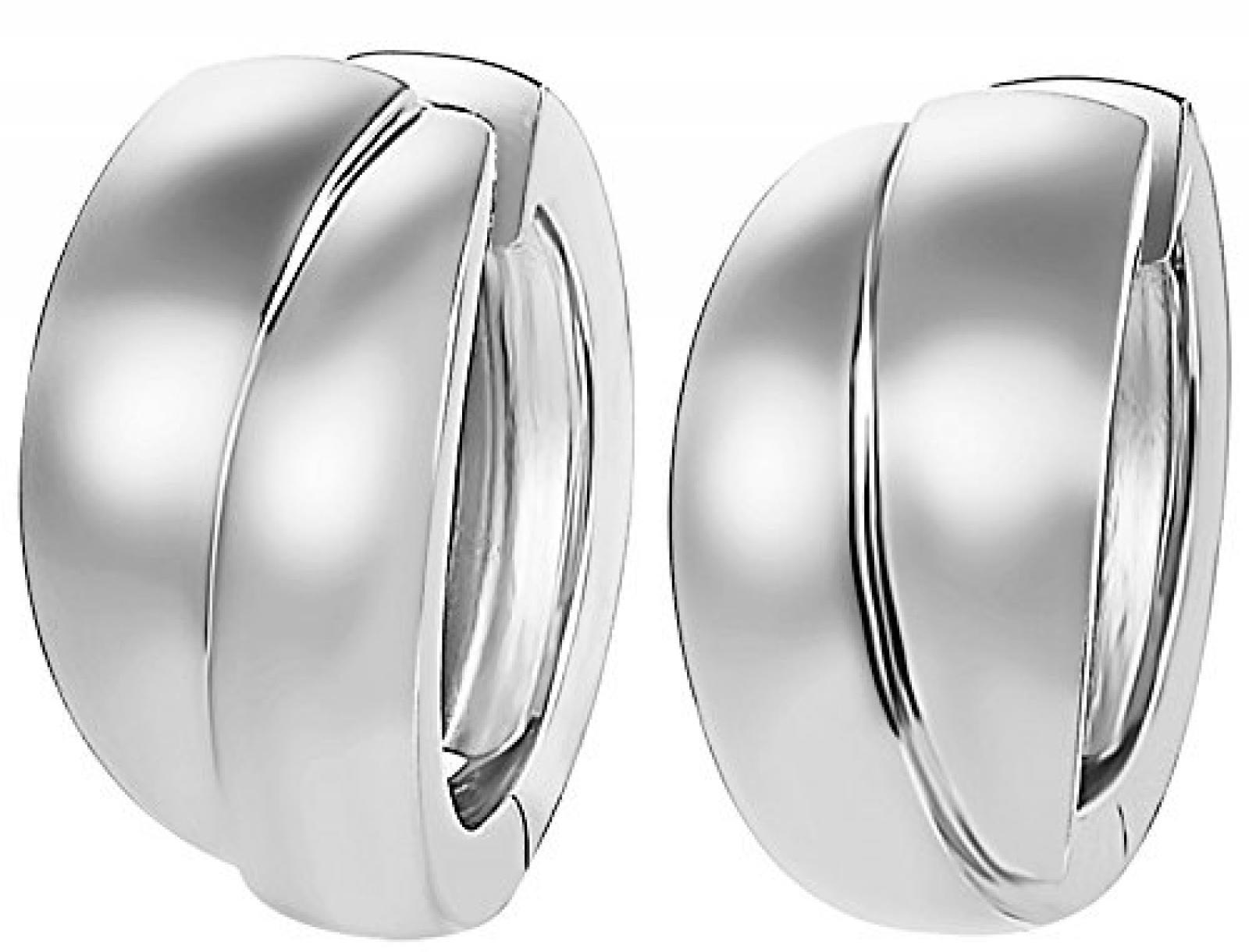 Joop Damen-Ohrclips 925 Sterling Silber rhodiniert Zoe JPCO90146A000