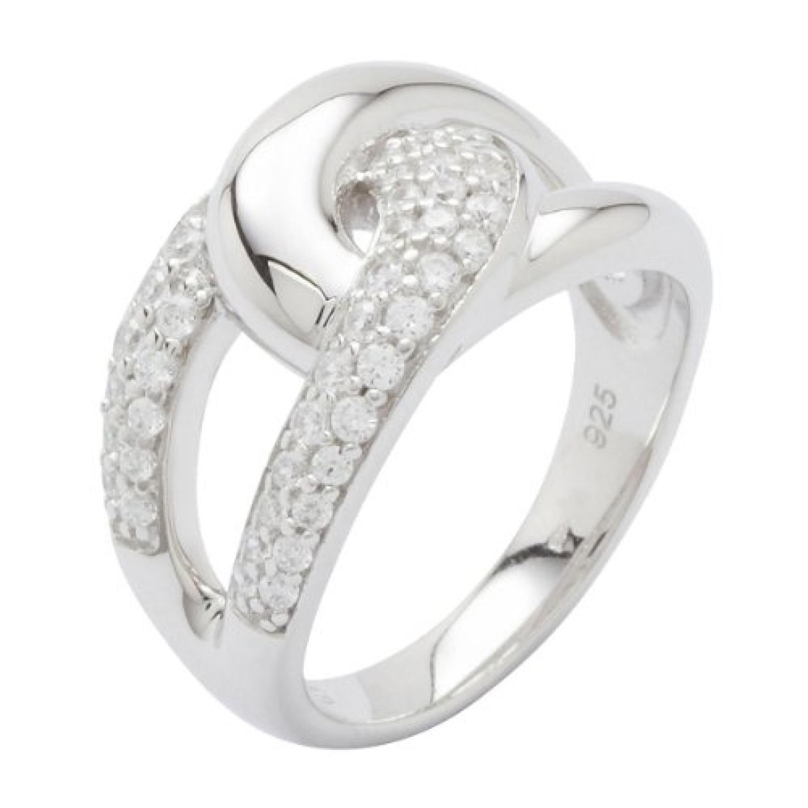 Fossil Damen-Ring 925 Sterling Silber Gr. 50 (15.9) JF16485040-5.5