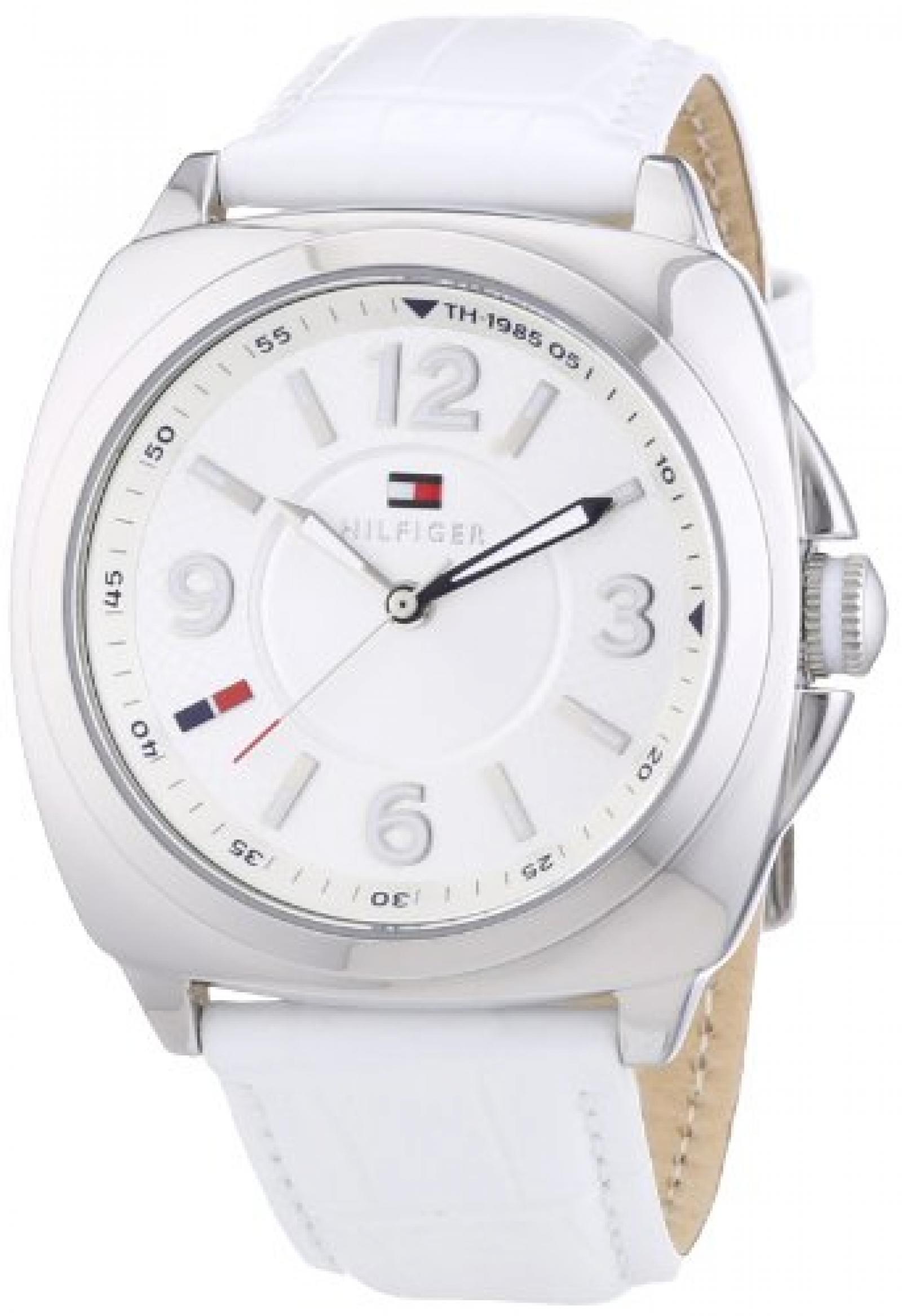 Tommy Hilfiger Damen-Armbanduhr Sport Luxery Analog Quarz Leder 1781335