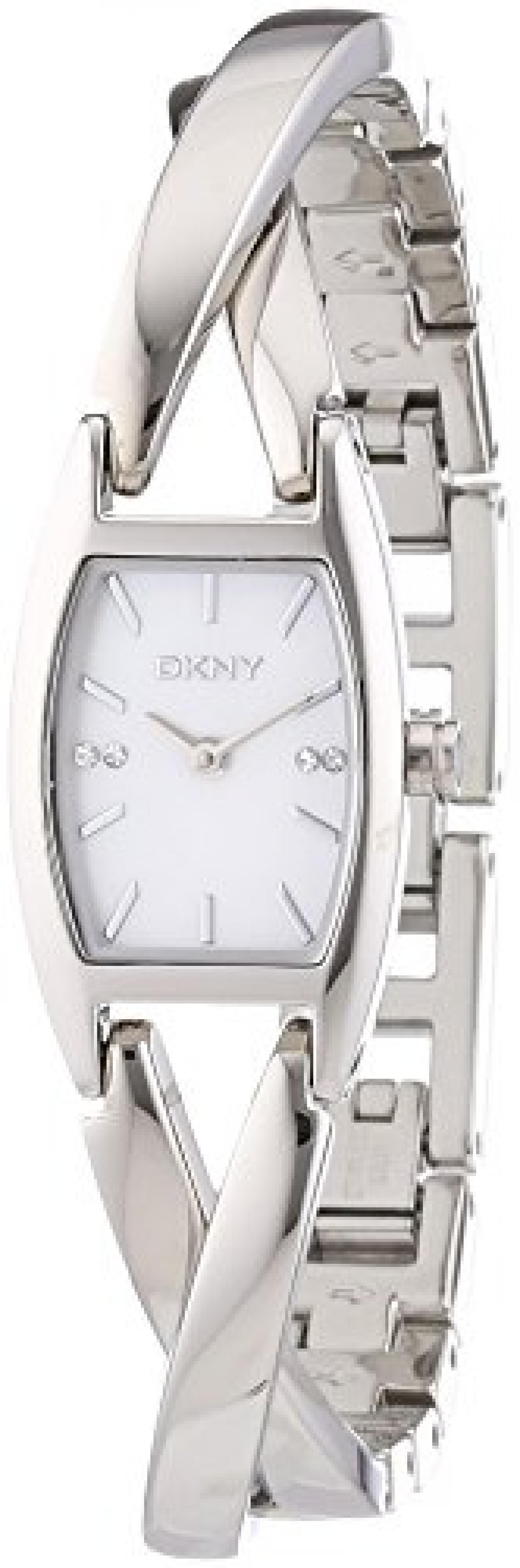 DKNY Damen-Armbanduhr Analog Quarz Edelstahl NY4631