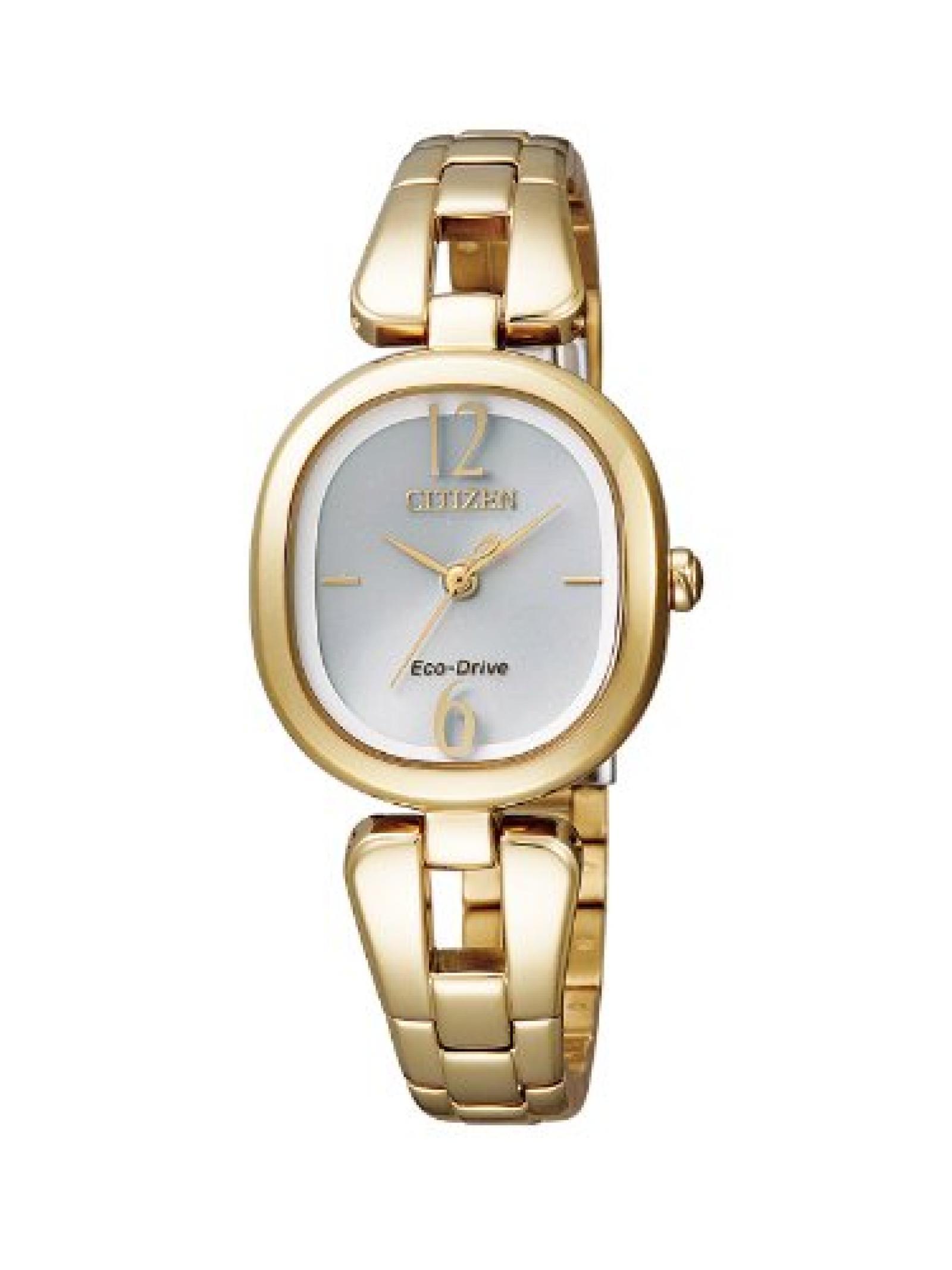 Citizen Damen-Armbanduhr XS Analog Quarz Edelstahl beschichtet EM0185-52A
