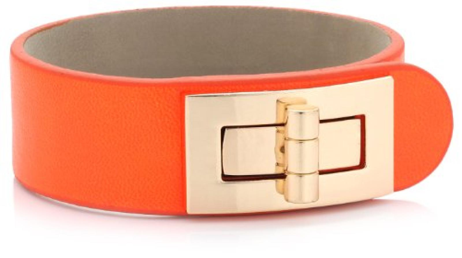 Sweet Deluxe Damen-Armband Kalea gold neon orange Messing 2517