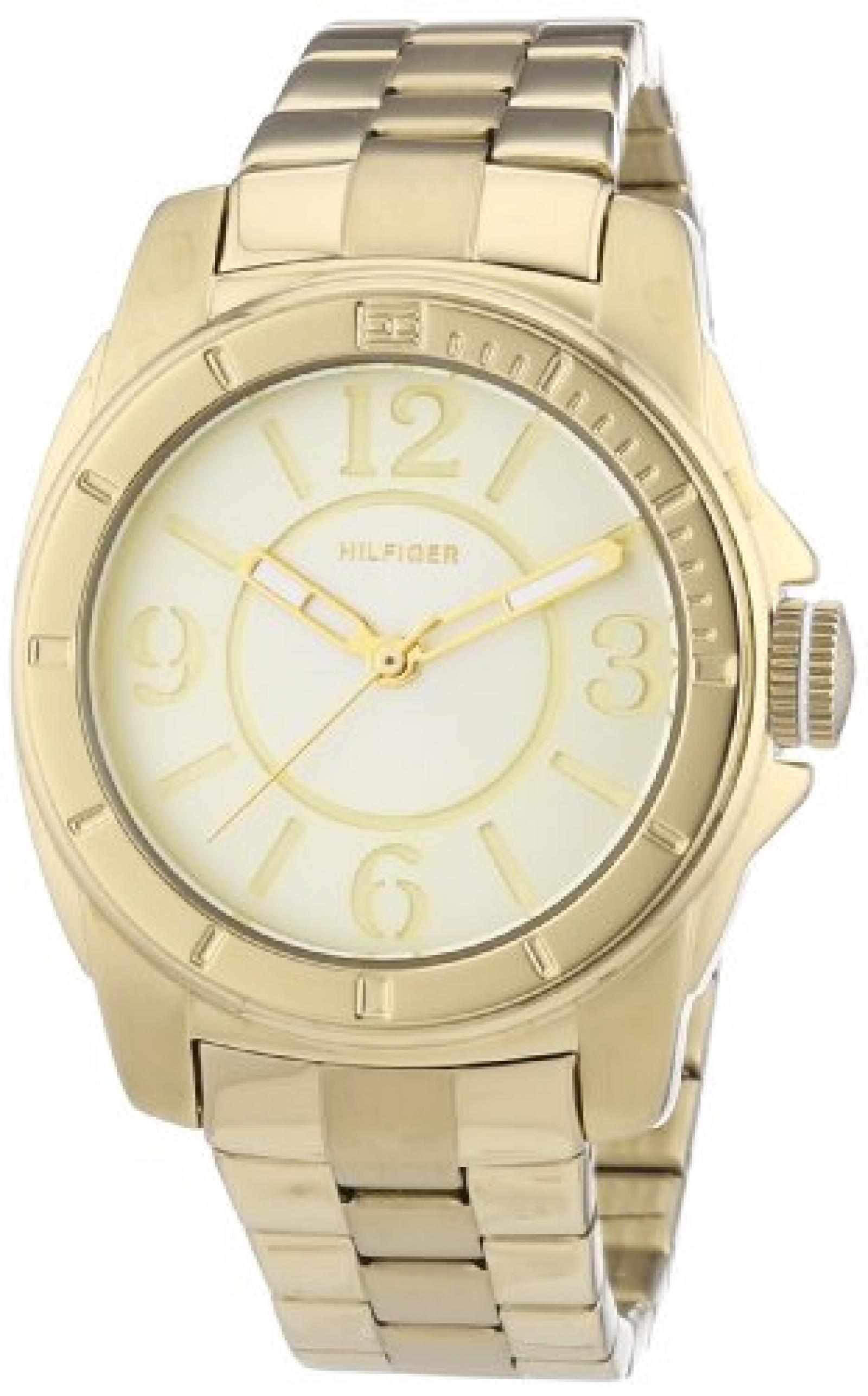 Tommy Hilfiger Damen-Armbanduhr Sport Luxery Analog Quarz Edelstahl beschichtet 1781139