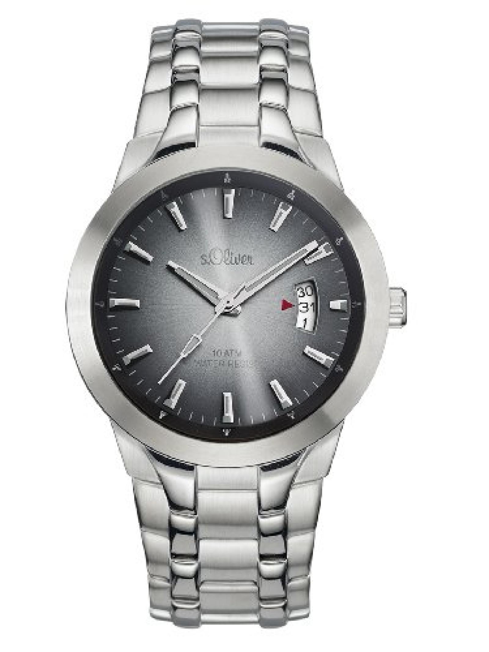 s.Oliver Herren-Armbanduhr SO-1976-MQ