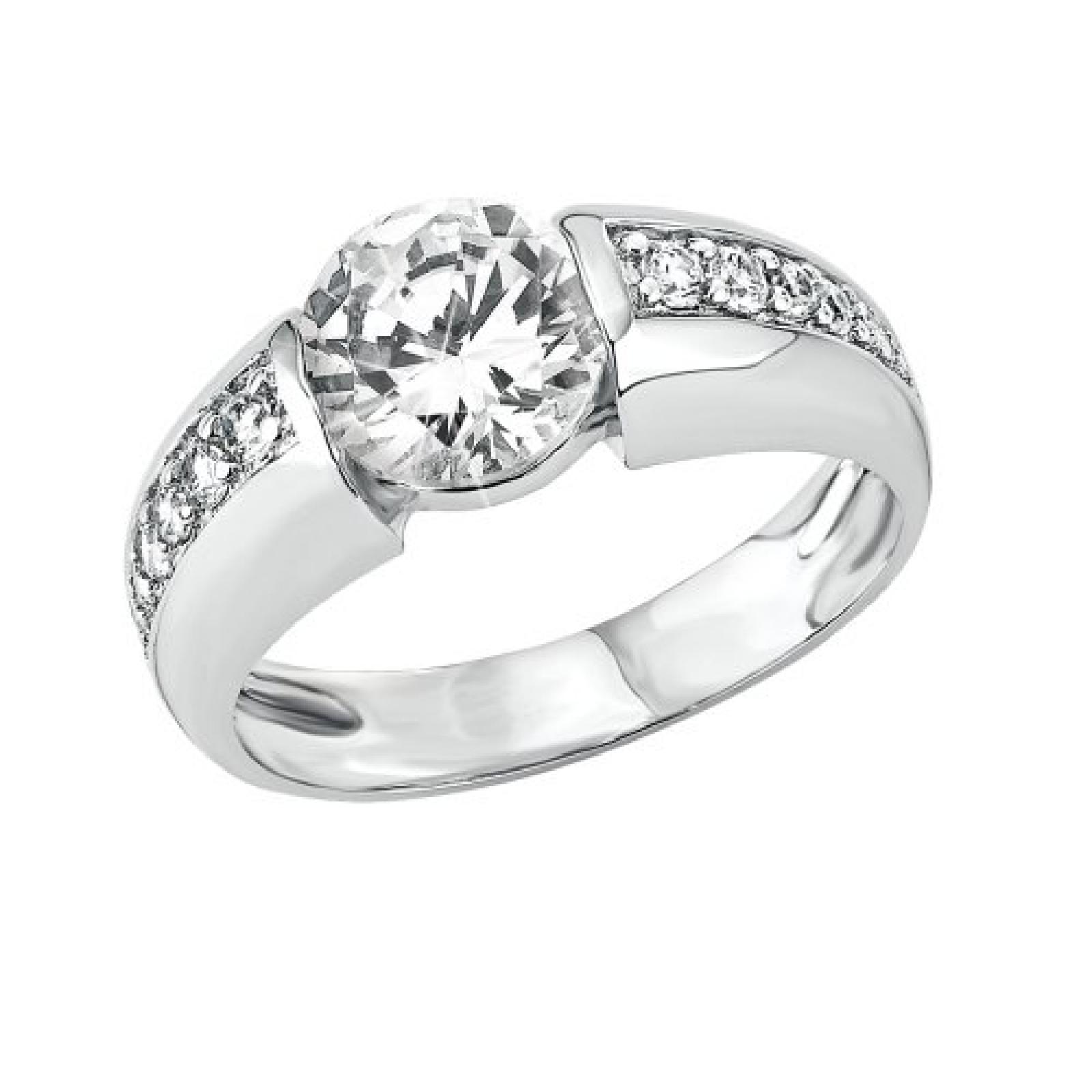 s.Oliver Jewels Damen-Ring Herbst Winter Kollektion 2013 925 Sterling Silber 4628