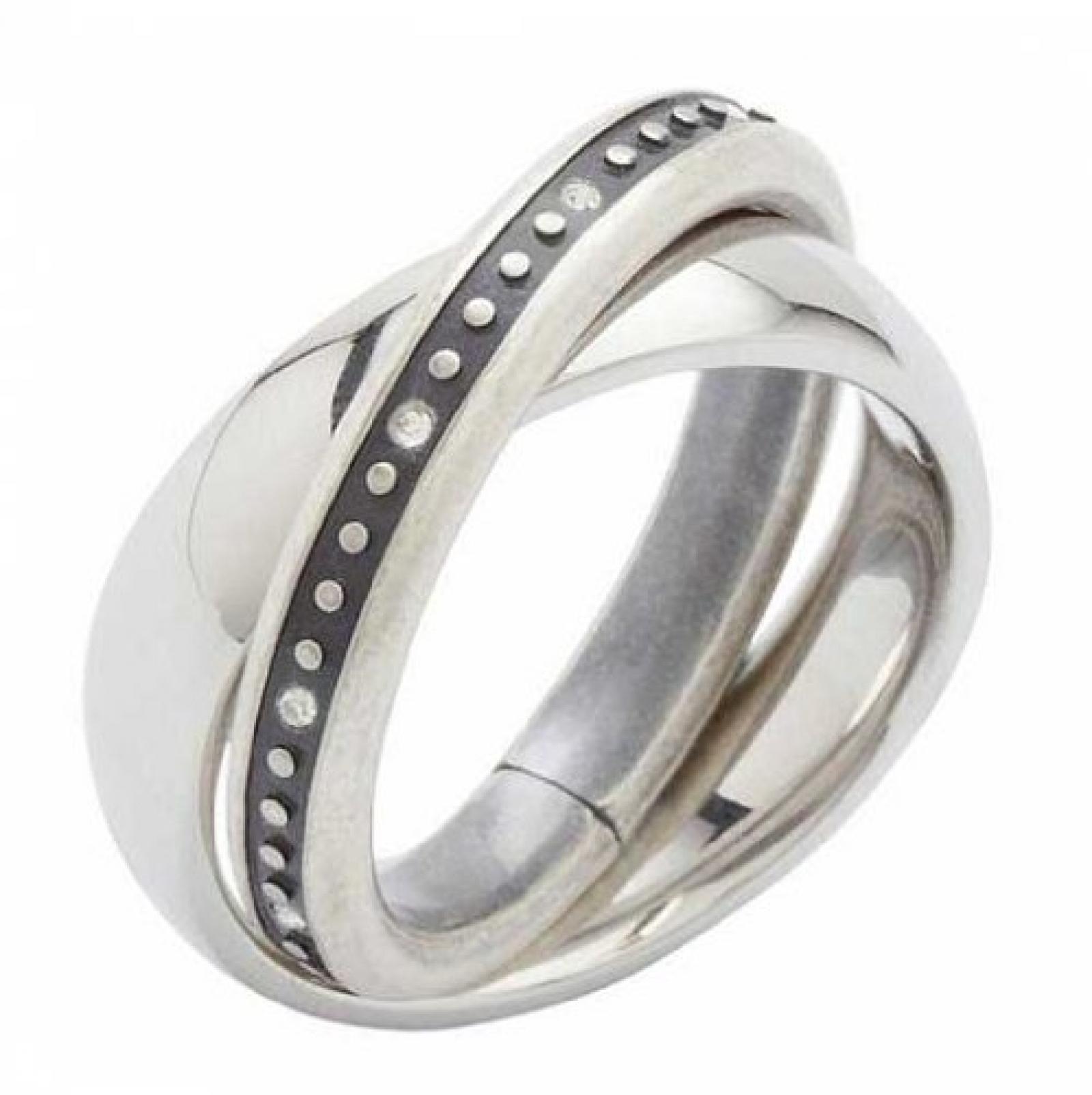 Fossil Jewelry Damen Ring JF84715 Gr. 18/57 Edelstahl NEU 4897