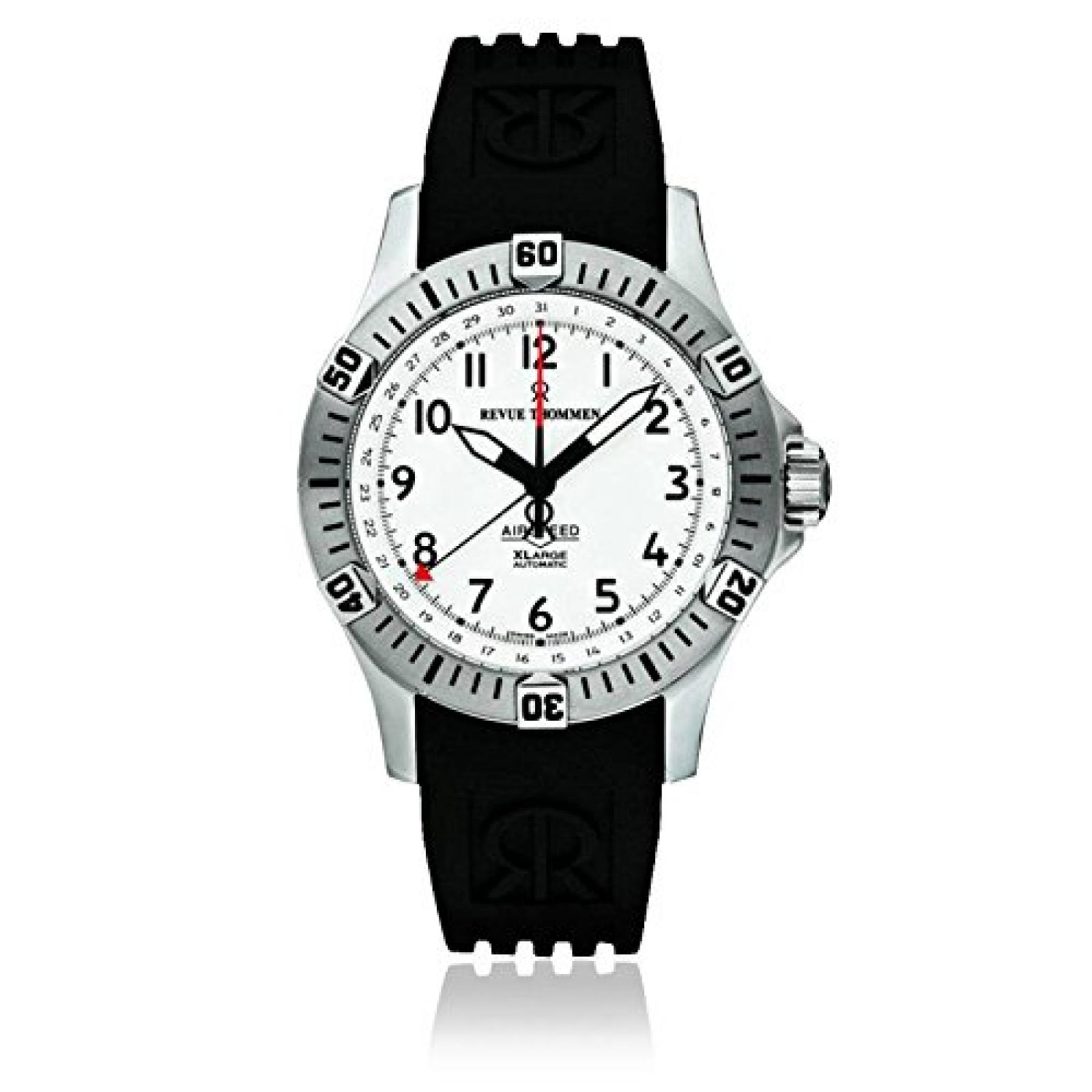Revue Thommen Pioneer XL Analog White Dial Mens Watch - 16070.2832