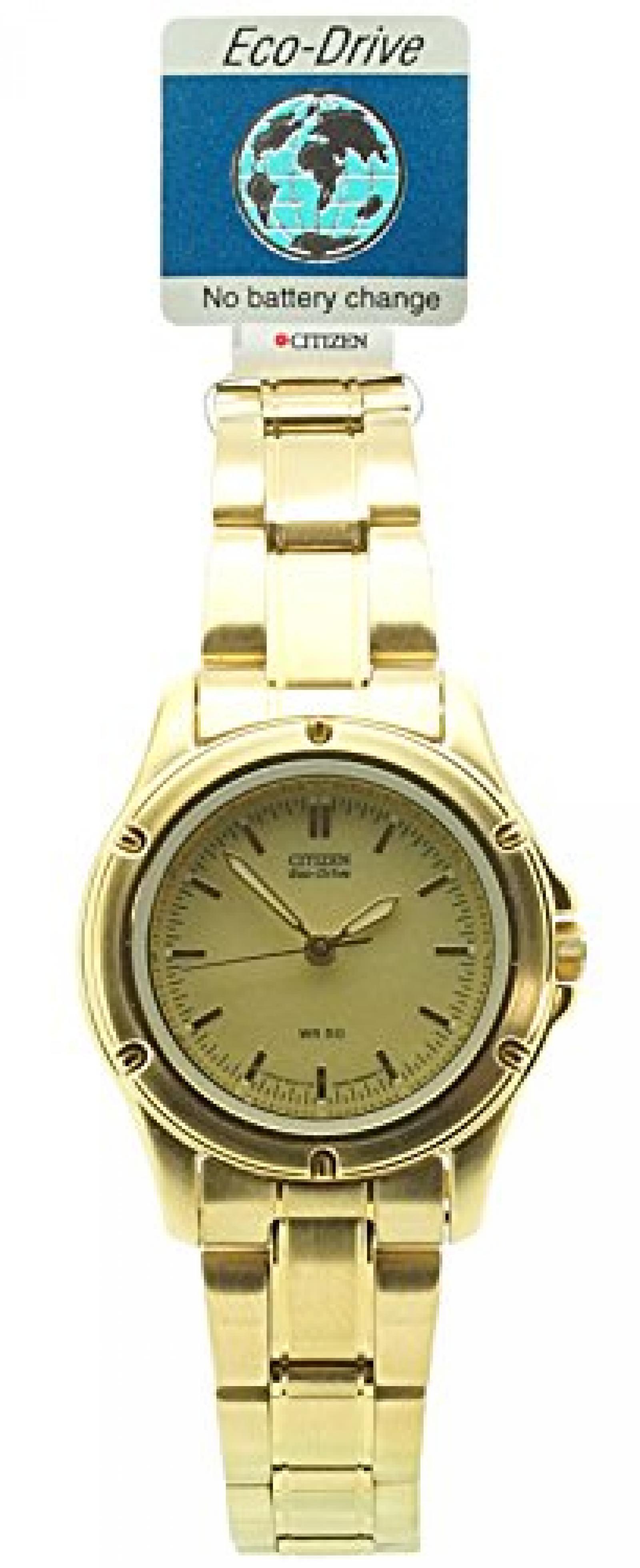 Citizen Damen-Armbanduhr XS Analog Quarz Edelstahl EP5002-58P