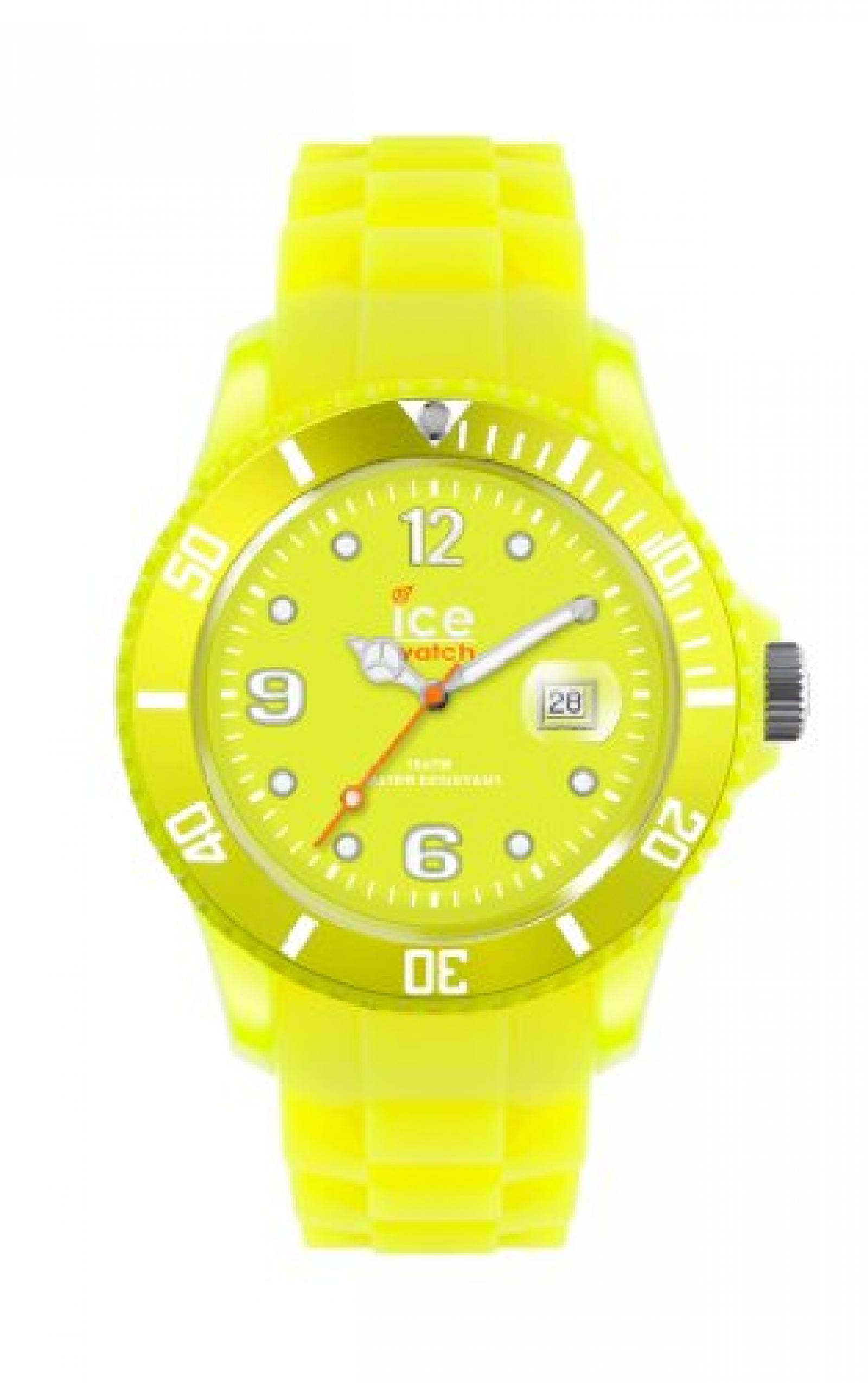 Ice-Watch Armbanduhr ice-Flashy Unisex Gelb SS.NYW.U.S.12