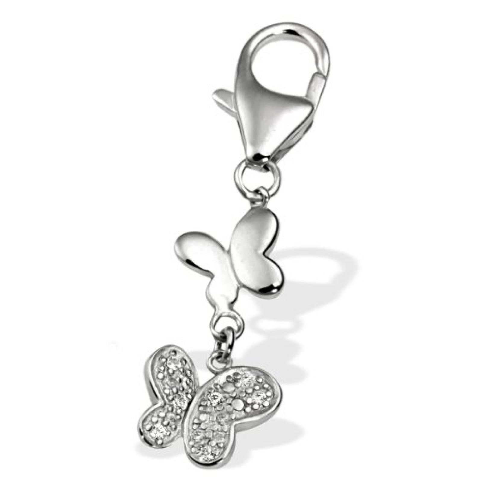 Goldmaid Damen-Charm Schmetterlinge 925 Sterlingsilber Ch C4438S