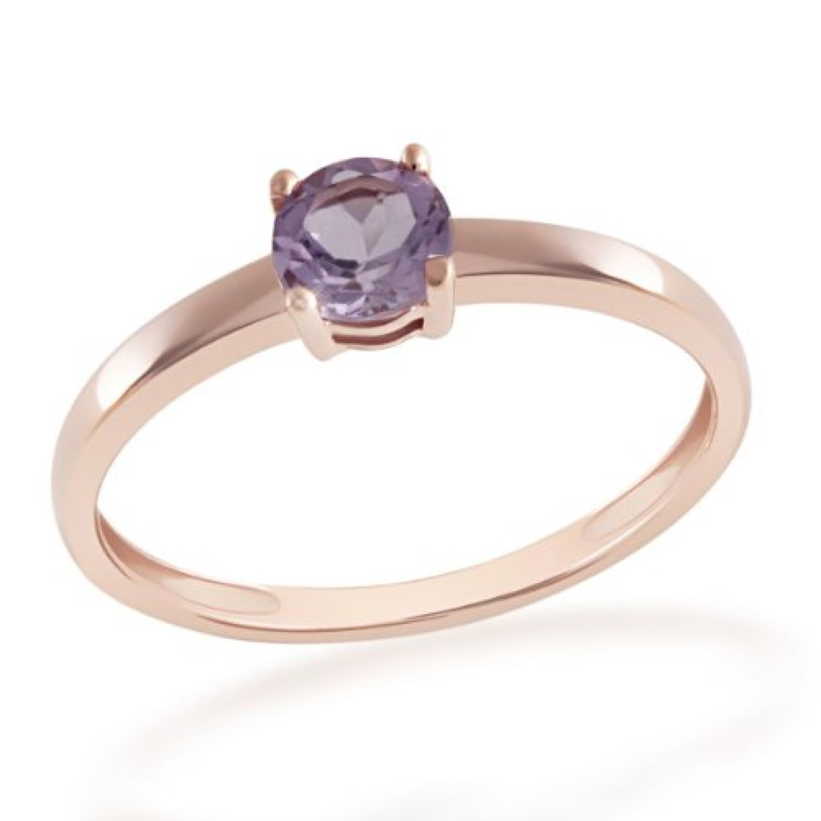 Goldmaid Damen-Ring Summerfeeling 375 Rotgold 1 Amethyst Fa R5756RG