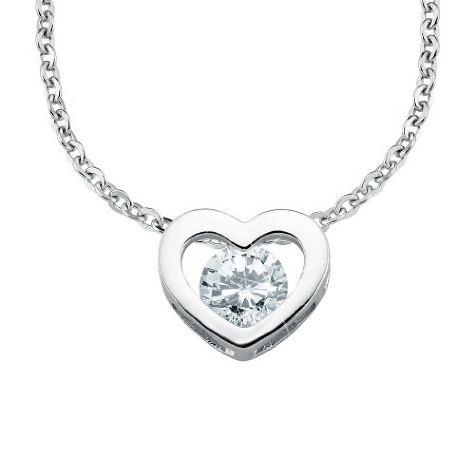 Amor Jewelry Damen-Halskette 925 Sterling Silber 399395