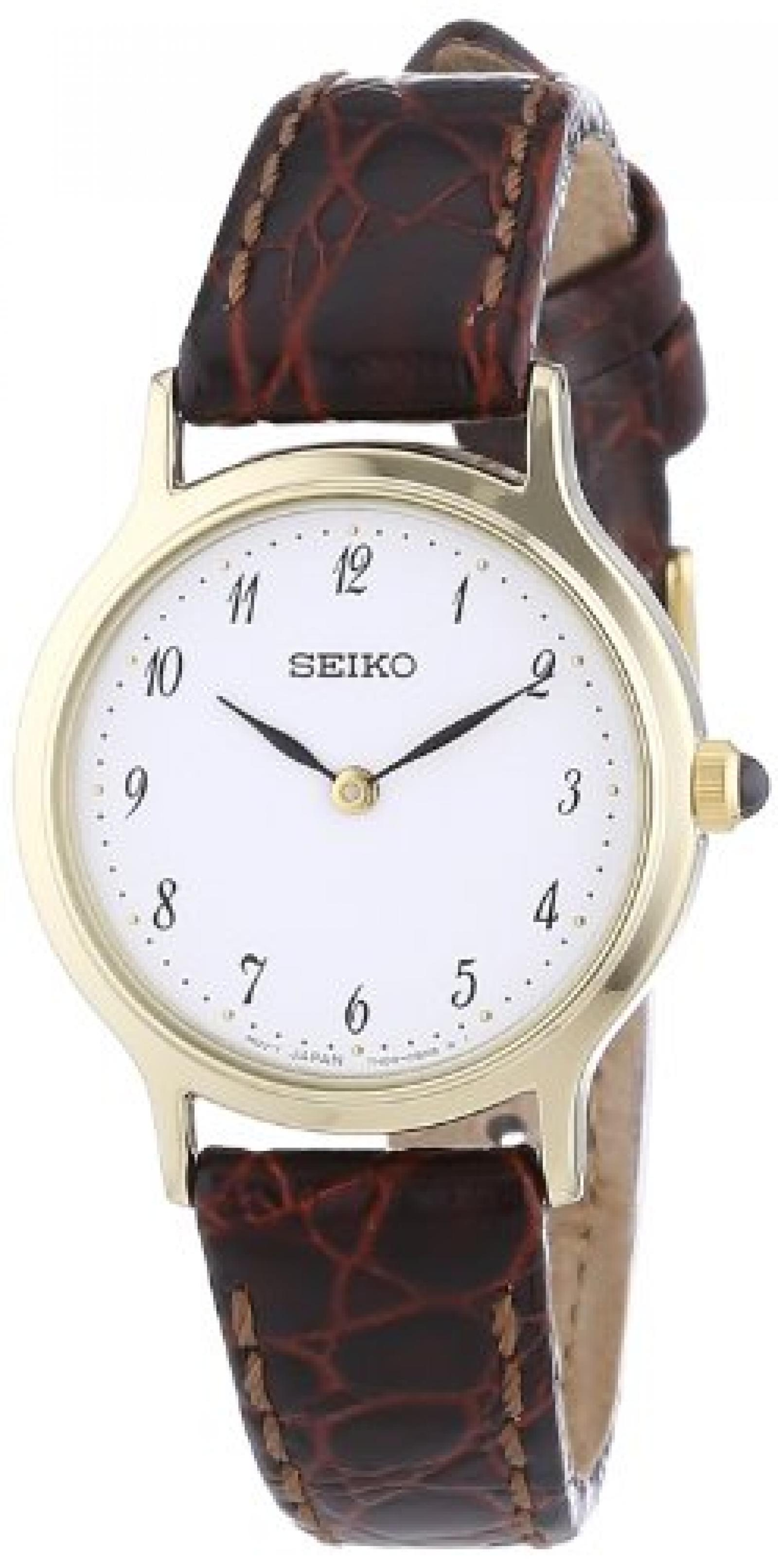 Seiko Quarz Damen-Armbanduhr SFQ828P1