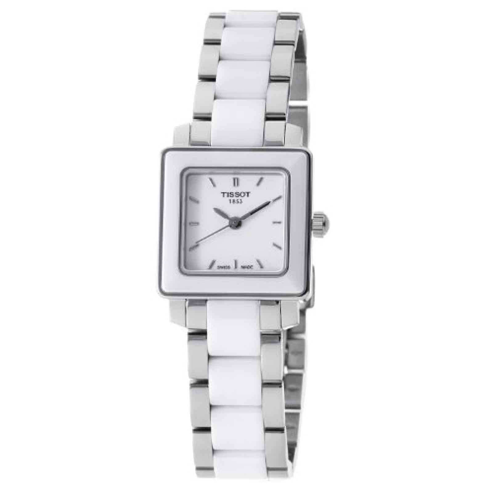 Tissot Damen-Armbanduhr Ceramic Analog Quarz Keramik T064.310.22.011.00