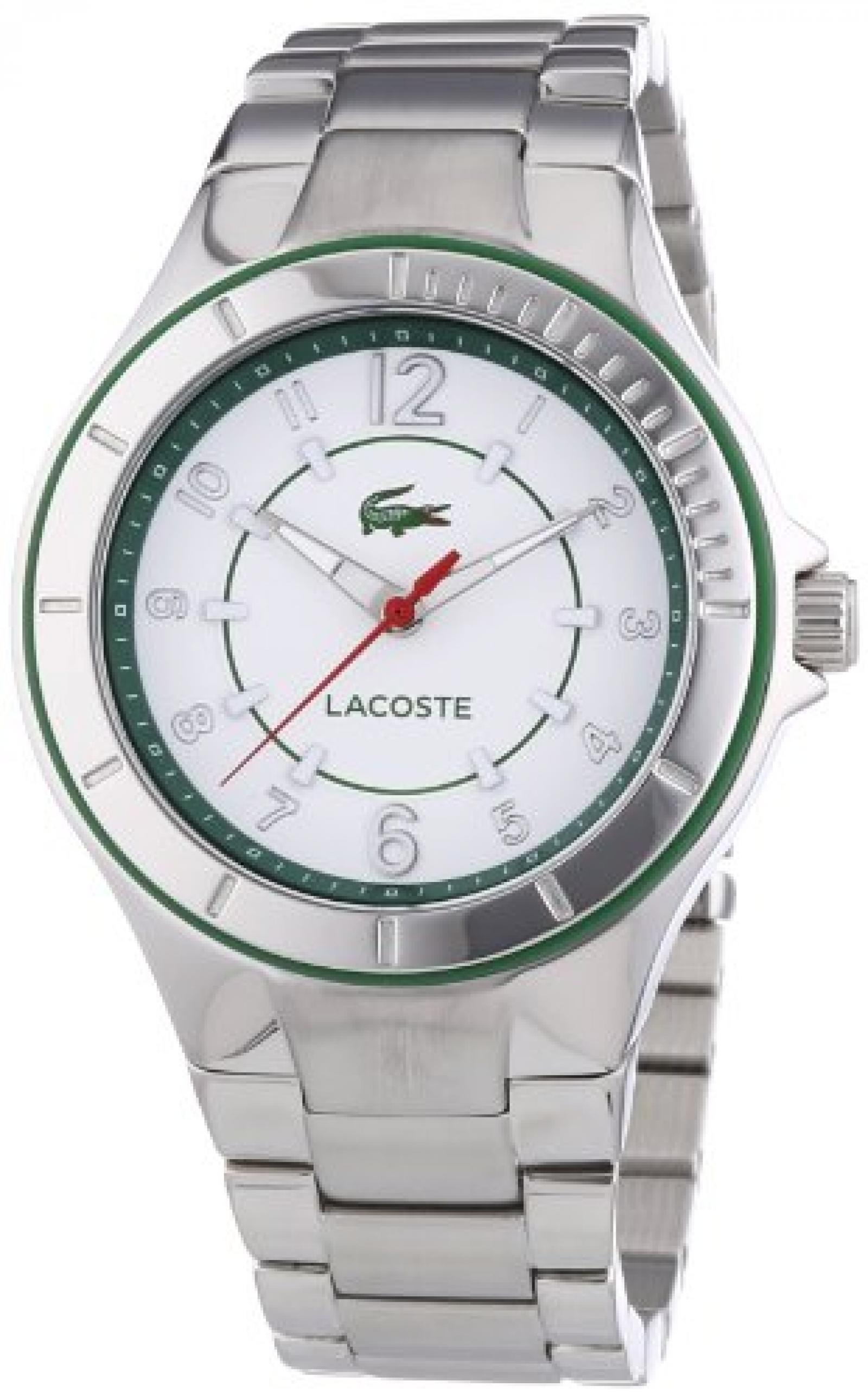 Lacoste Damen-Armbanduhr Acapulco Analog Quarz Edelstahl 2000814