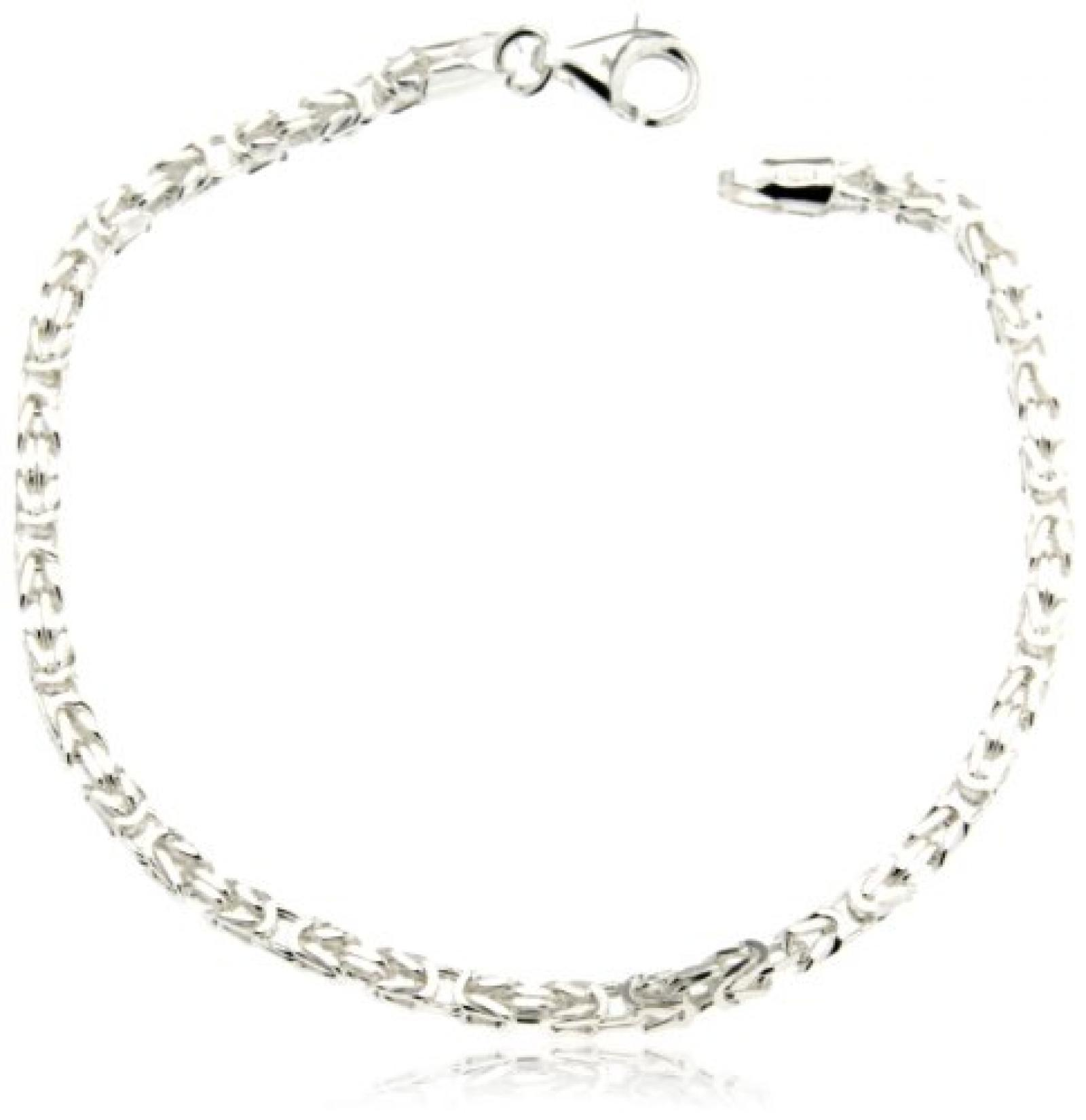 BOB C. Unisex-Armband 925 Sterling Silber König 299626
