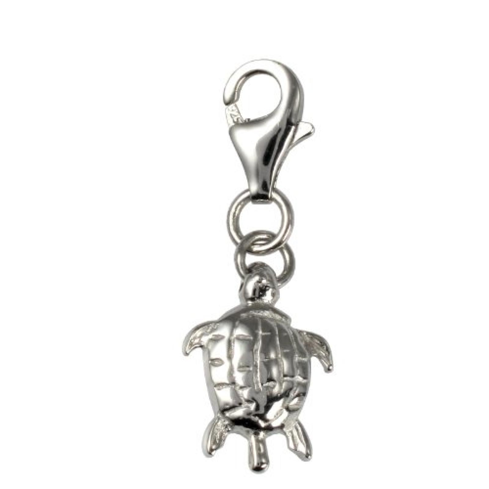 Amor Damen Schildkröte-Charm  925 Sterlingsilber 25 mm 165532