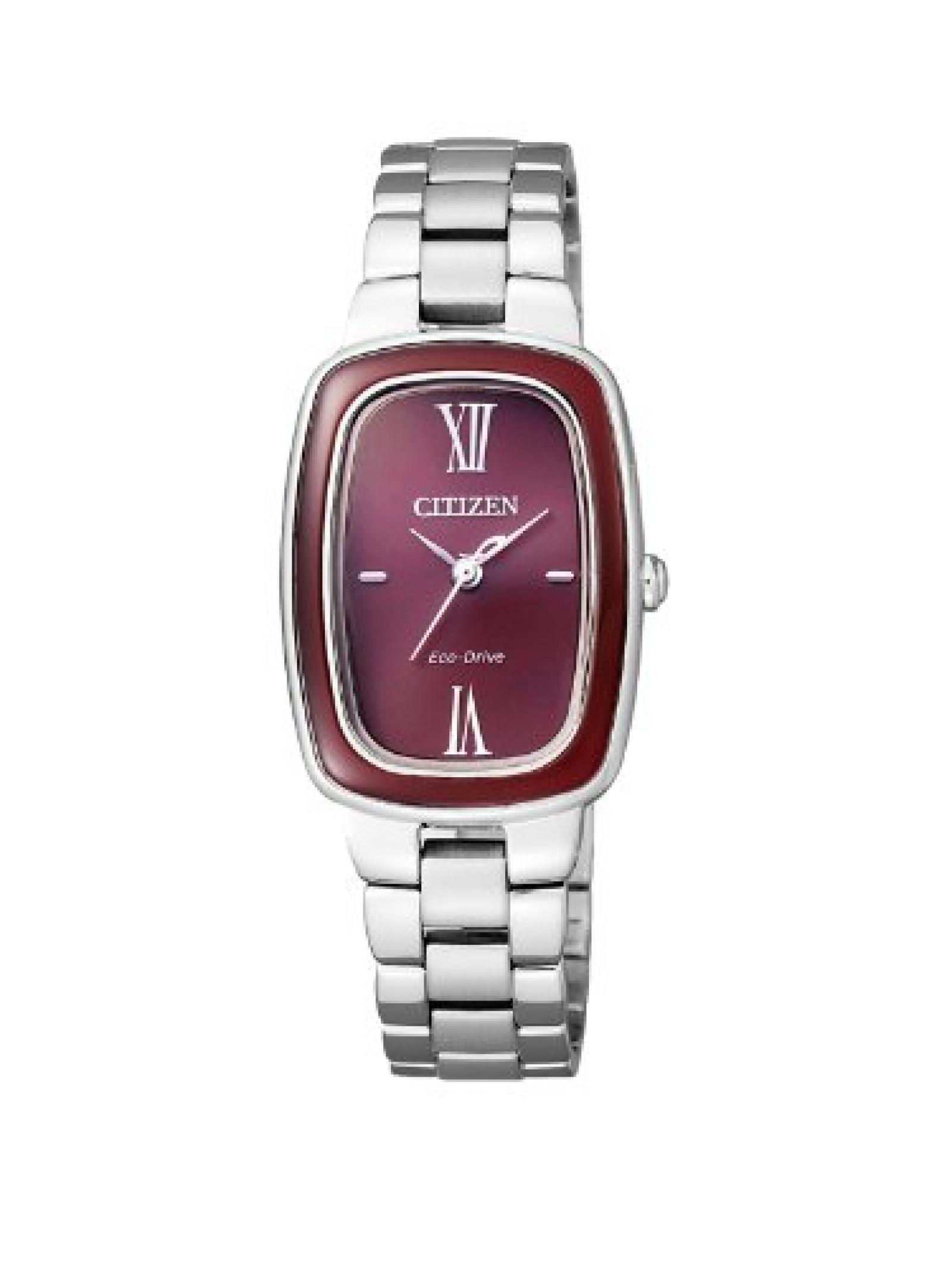 Citizen Damen-Armbanduhr XS Citizen L Analog Quarz Edelstahl EM0006-53W