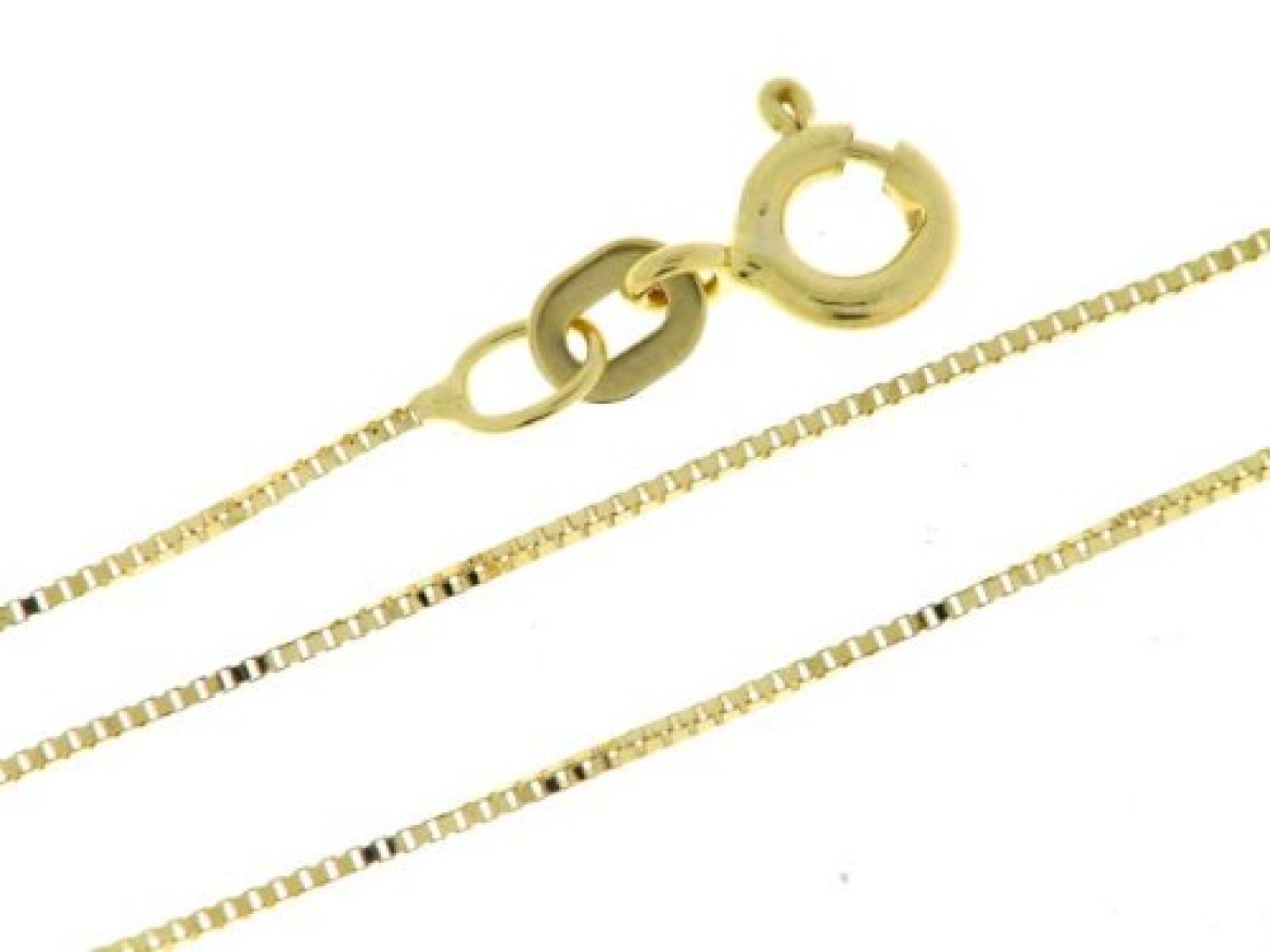 BOB C. Damen-Halskette ohne Anhänger Venezianer 14 Karat 585 Gelbgold 326925