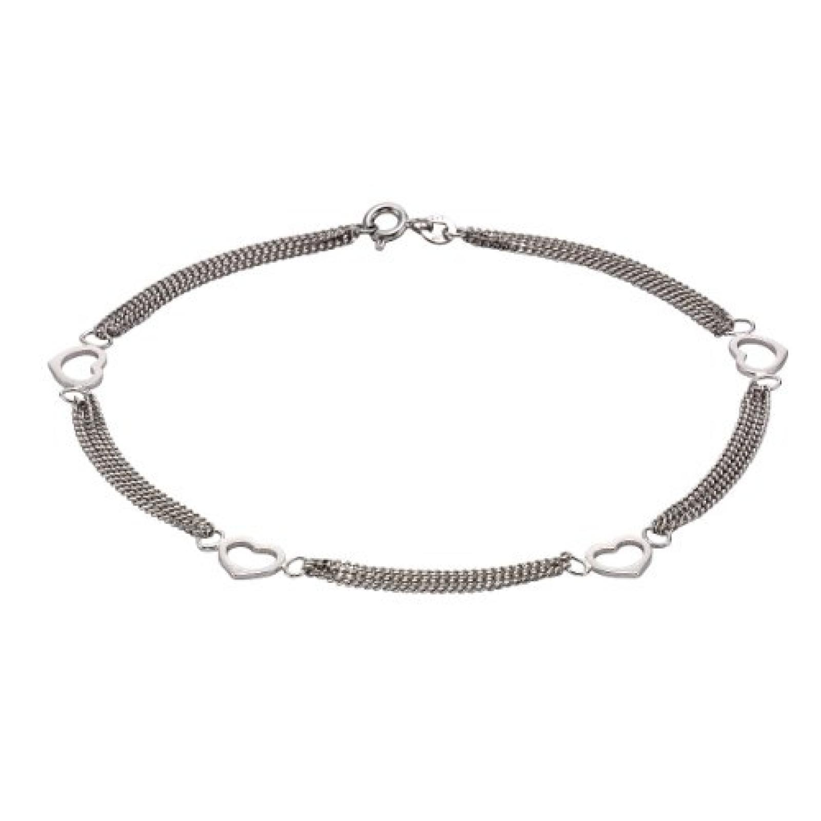 ZEEme Damenfußkette 925/- Sterling Silber 25cm 299200025R