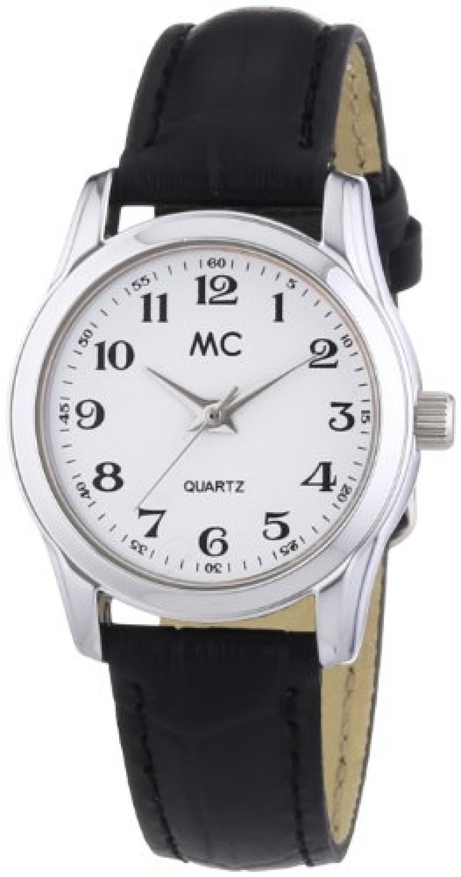 MC Timetrend Damen-Armbanduhr Analog Quarz Leder 51239