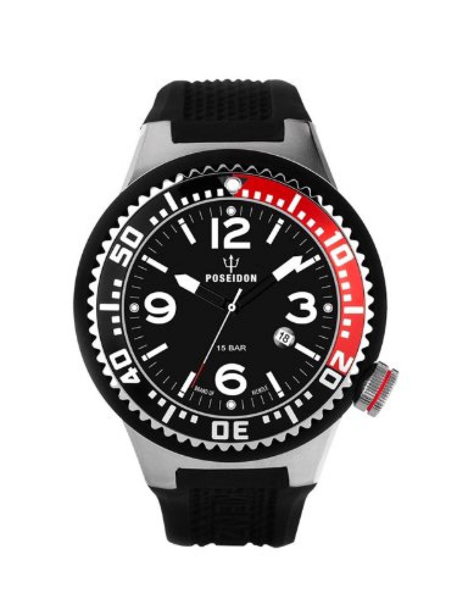 Kienzle Herren-Armbanduhr POSEIDON L Analog Quarz Silikon K2093013053-00401