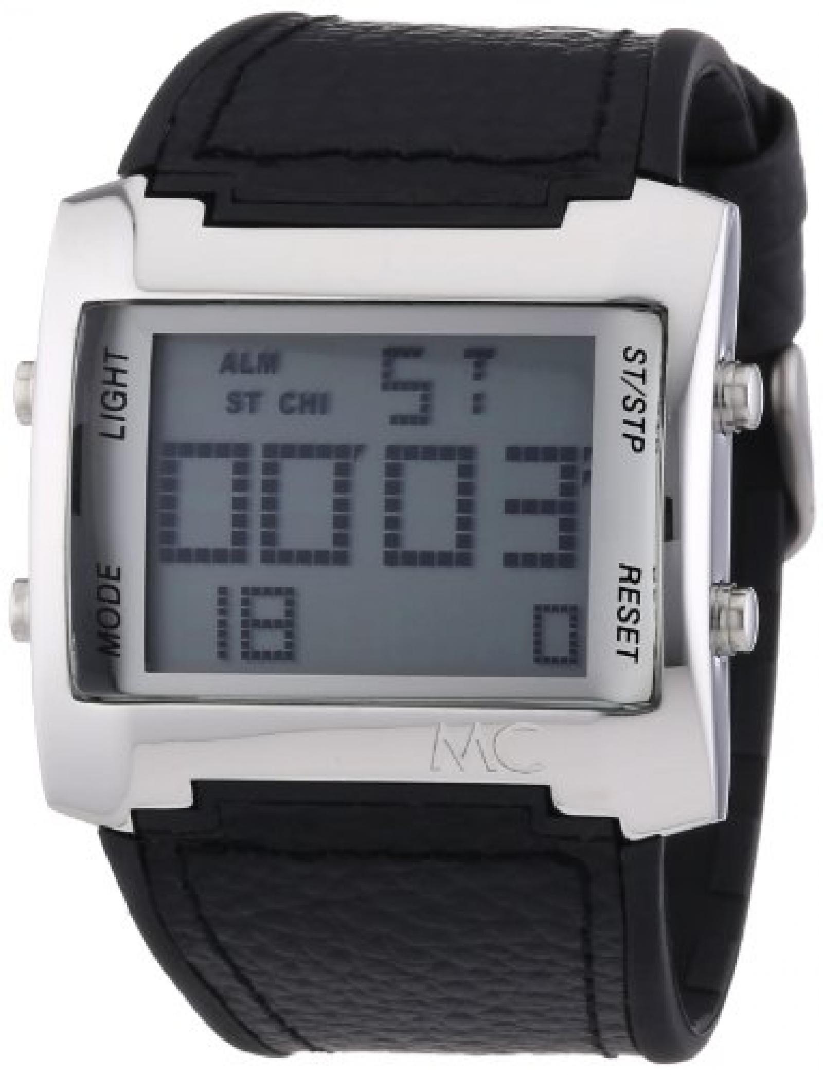 MC Timetrend Herren-Armbanduhr Digital Quarz Kunststoffband 30232