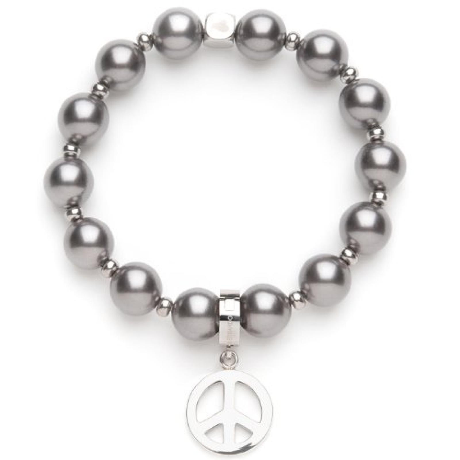 Leonardo Jewels Damen-Armband Pearly Grau Darlins 013587